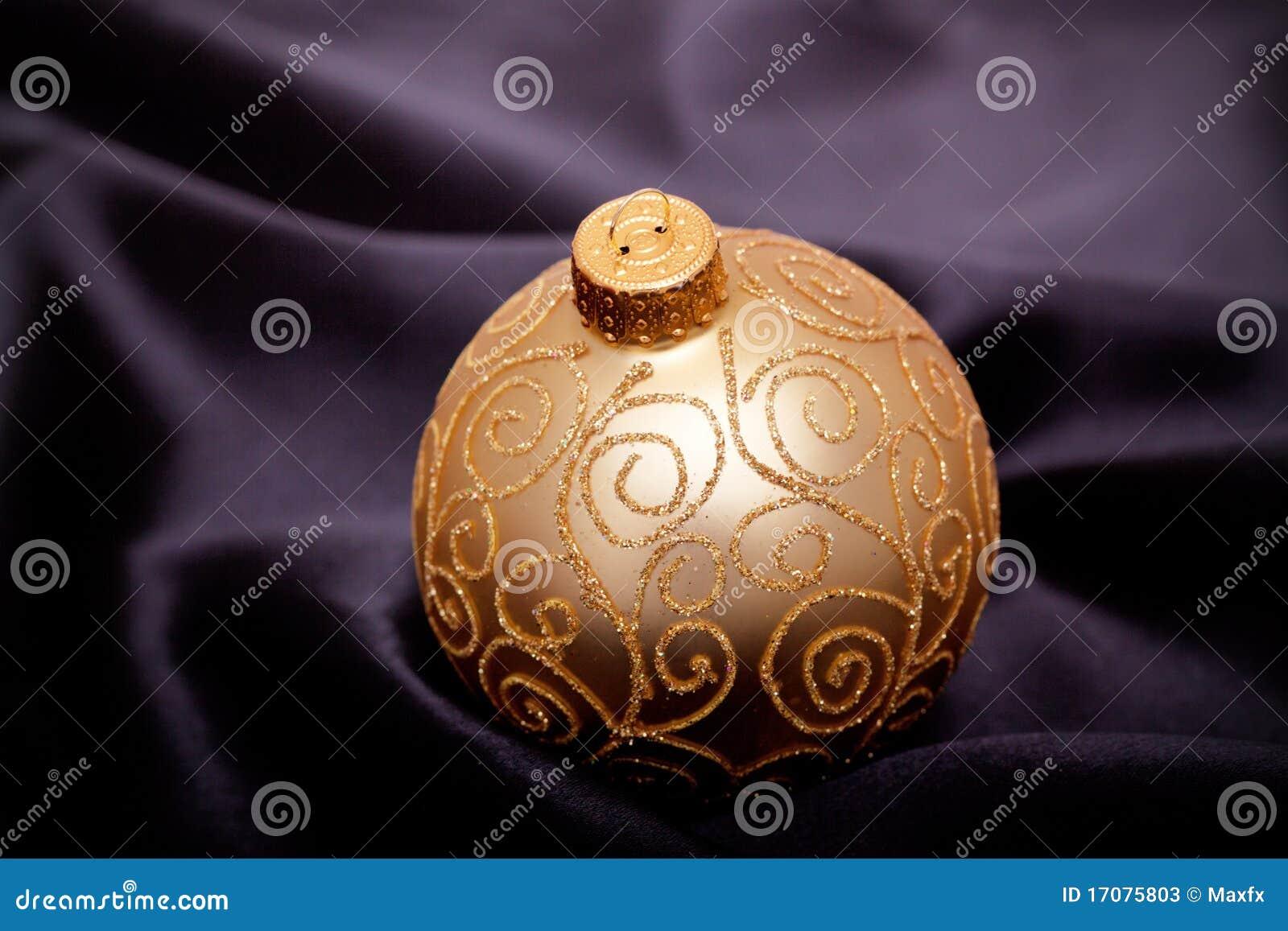 почерните сатинировку орнамента рождества