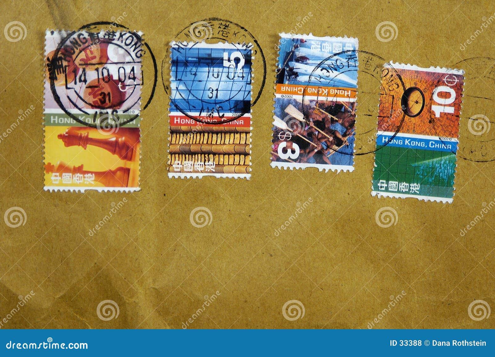 почтовая оплата Hong Kong