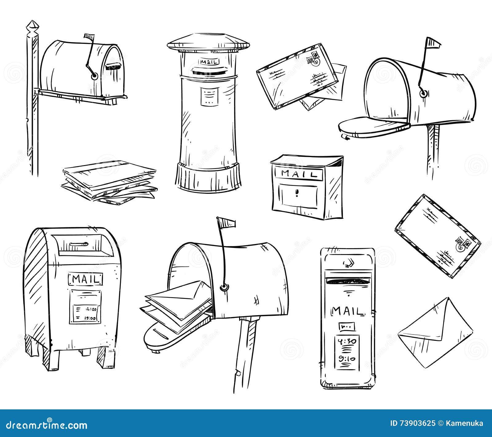 картинка почтового ящика распечатать твое призвание