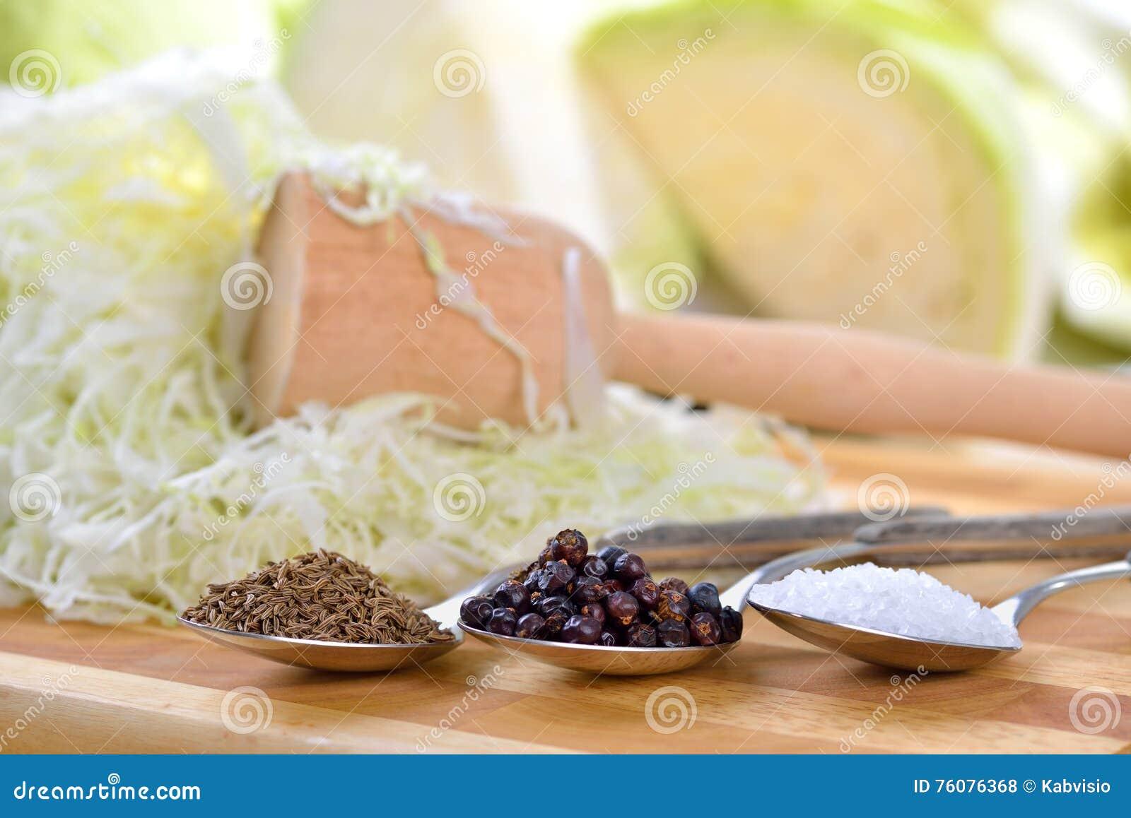 подготовлять sauerkraut