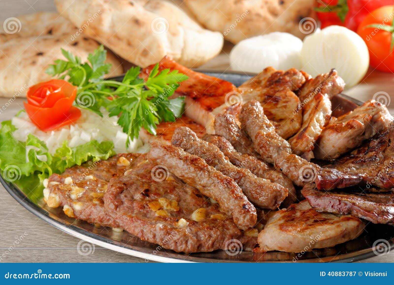 Полезный диск смешанных мяс