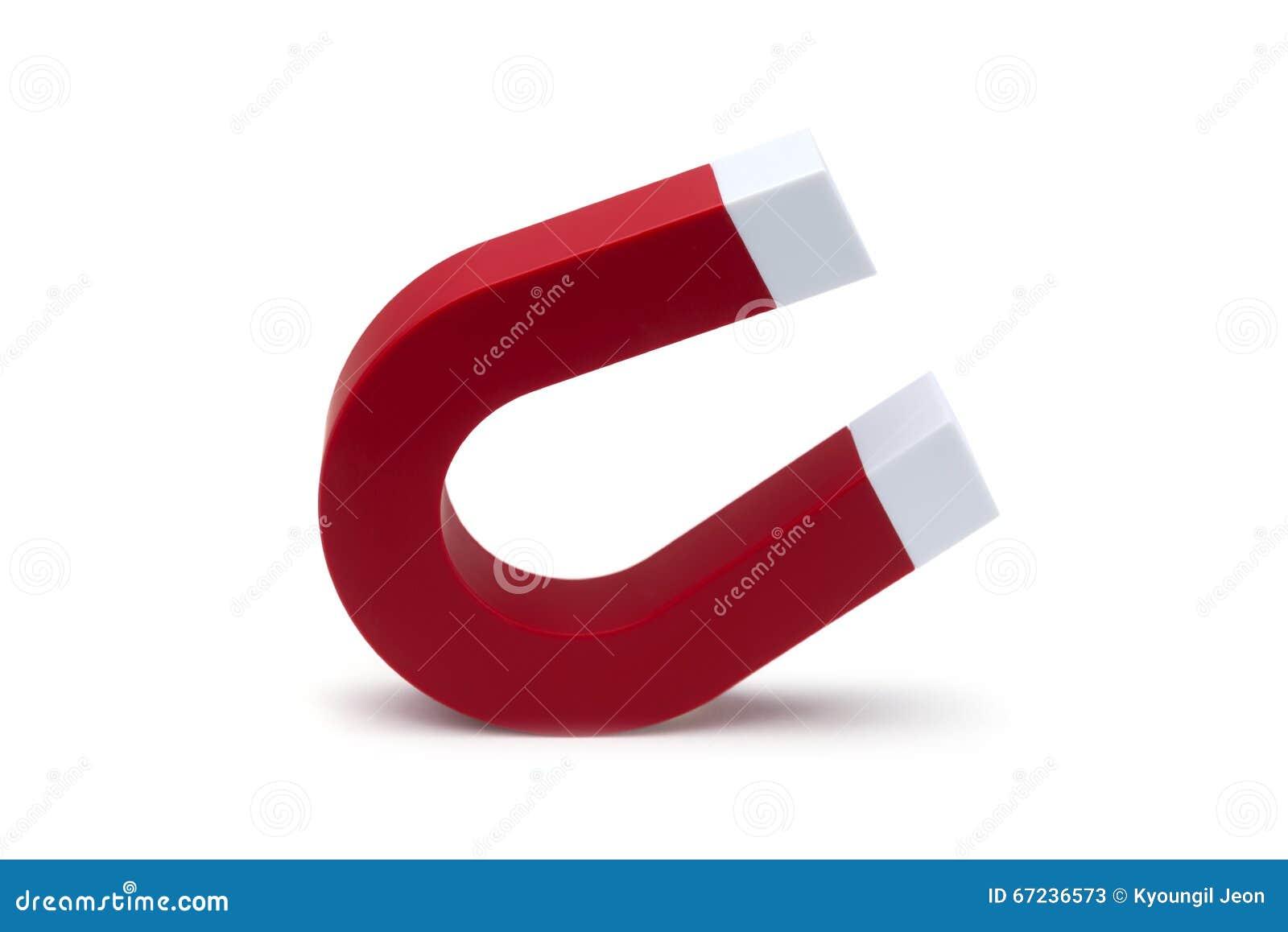 Красный цвет магнита это