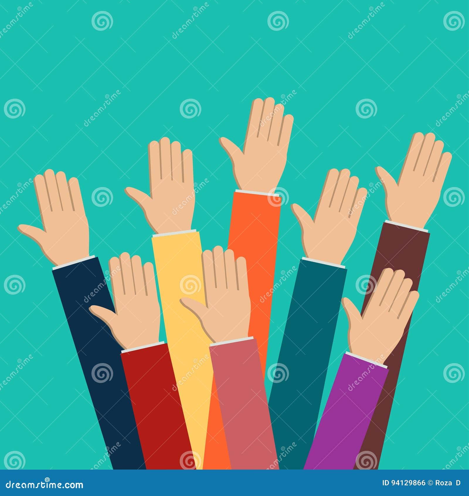 Поднятые руки 2
