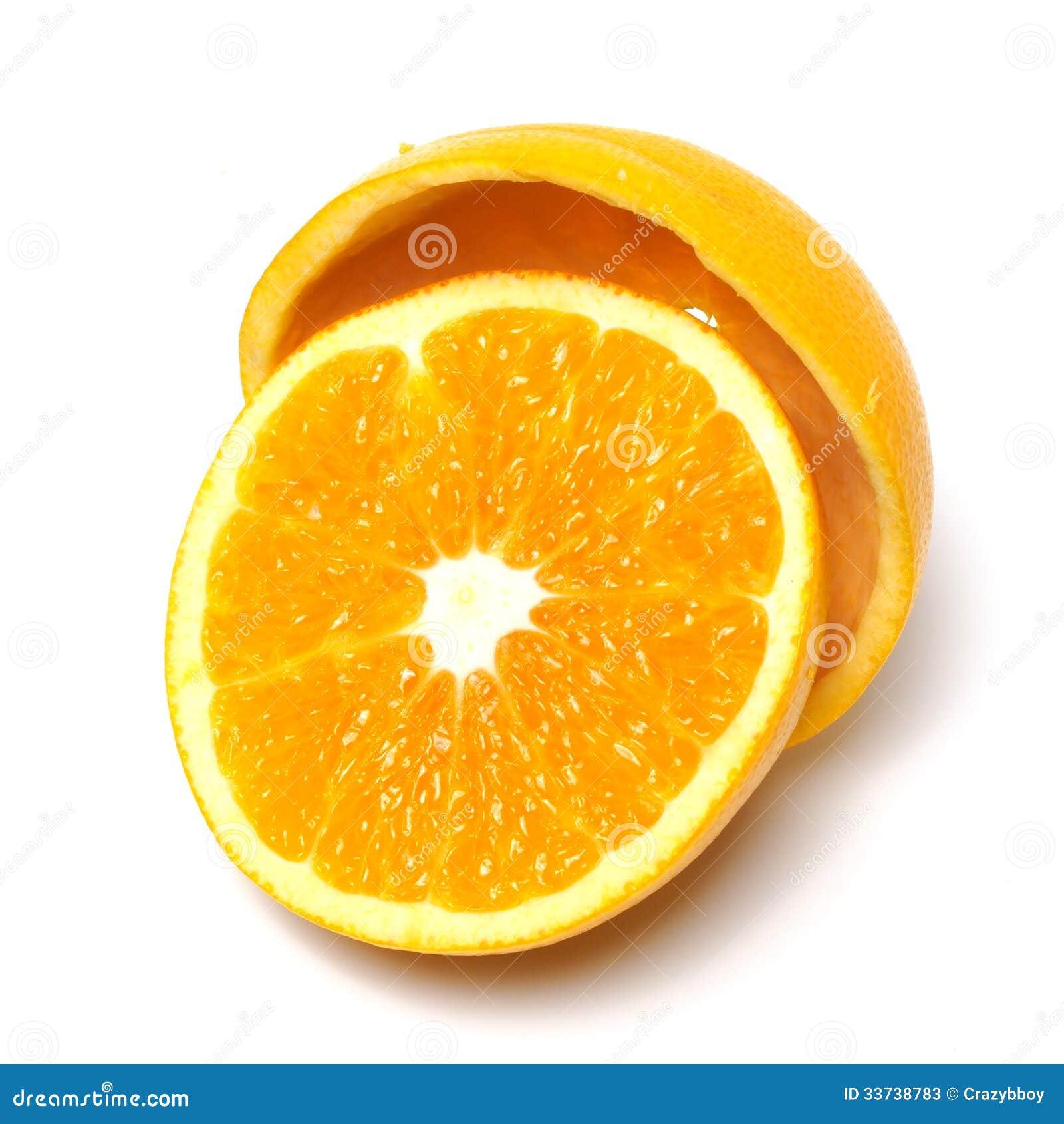 Половинный апельсин
