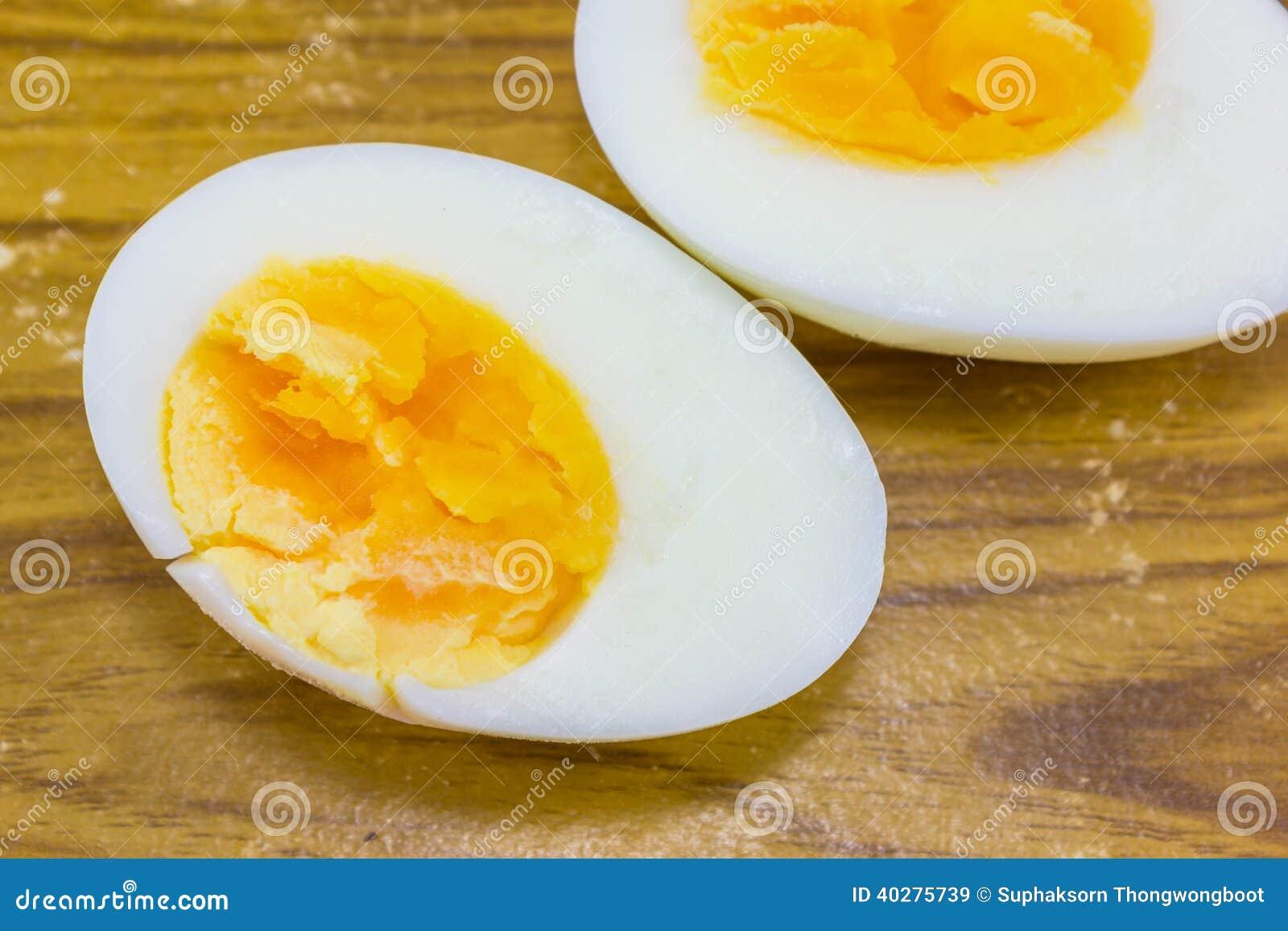 2 половины вареного яйца