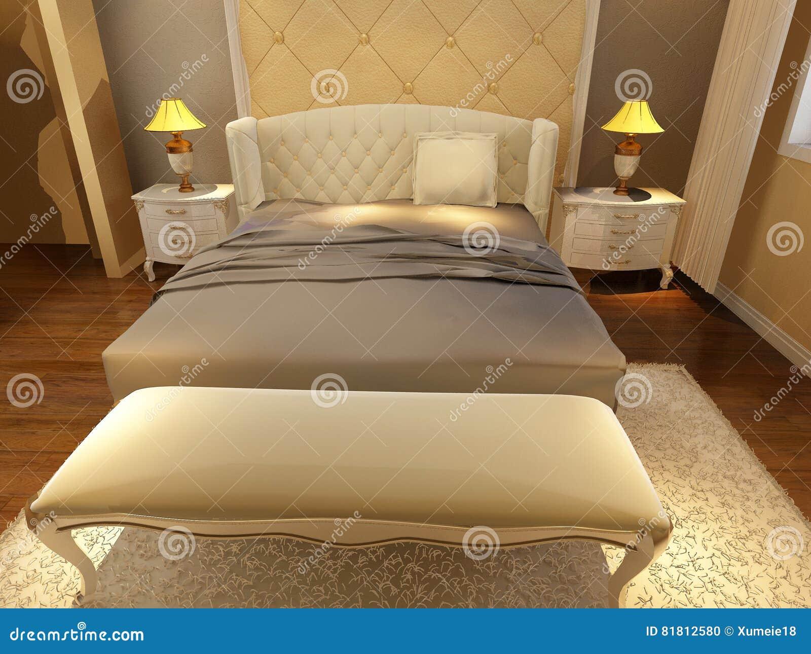 Положите комнату в постель