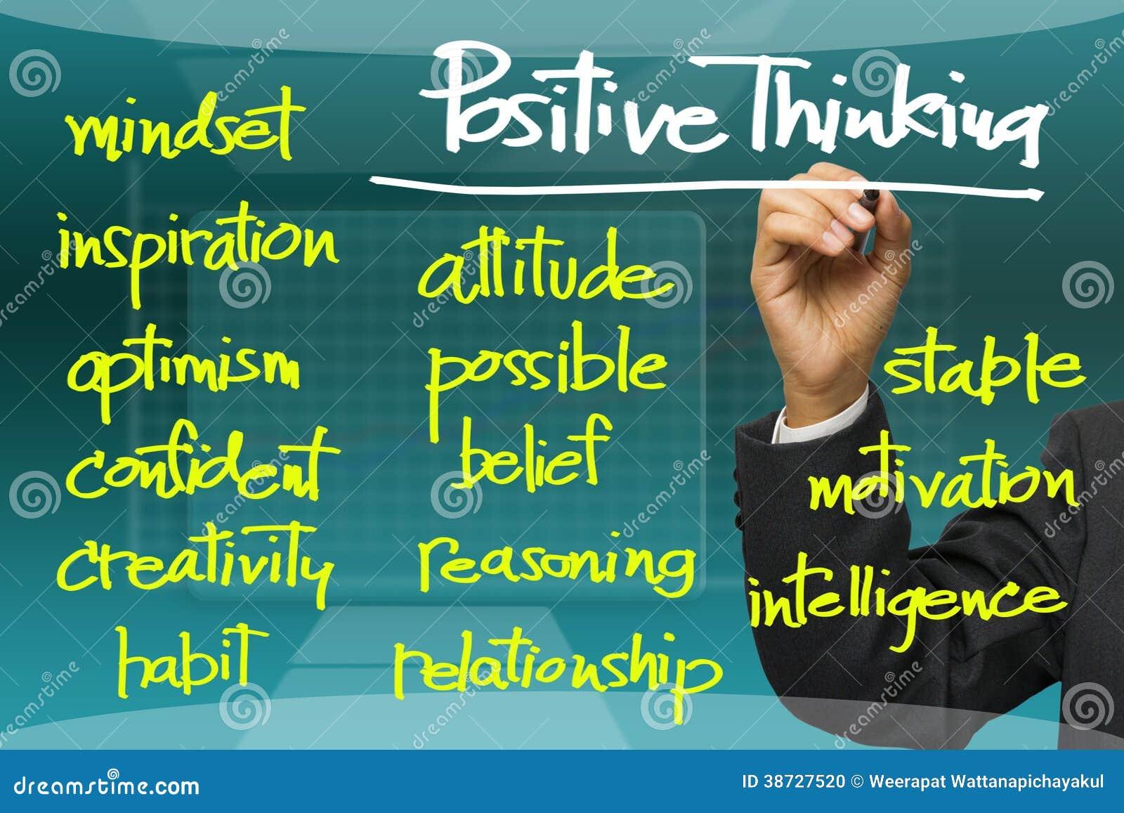 enhancing positive thinking essay