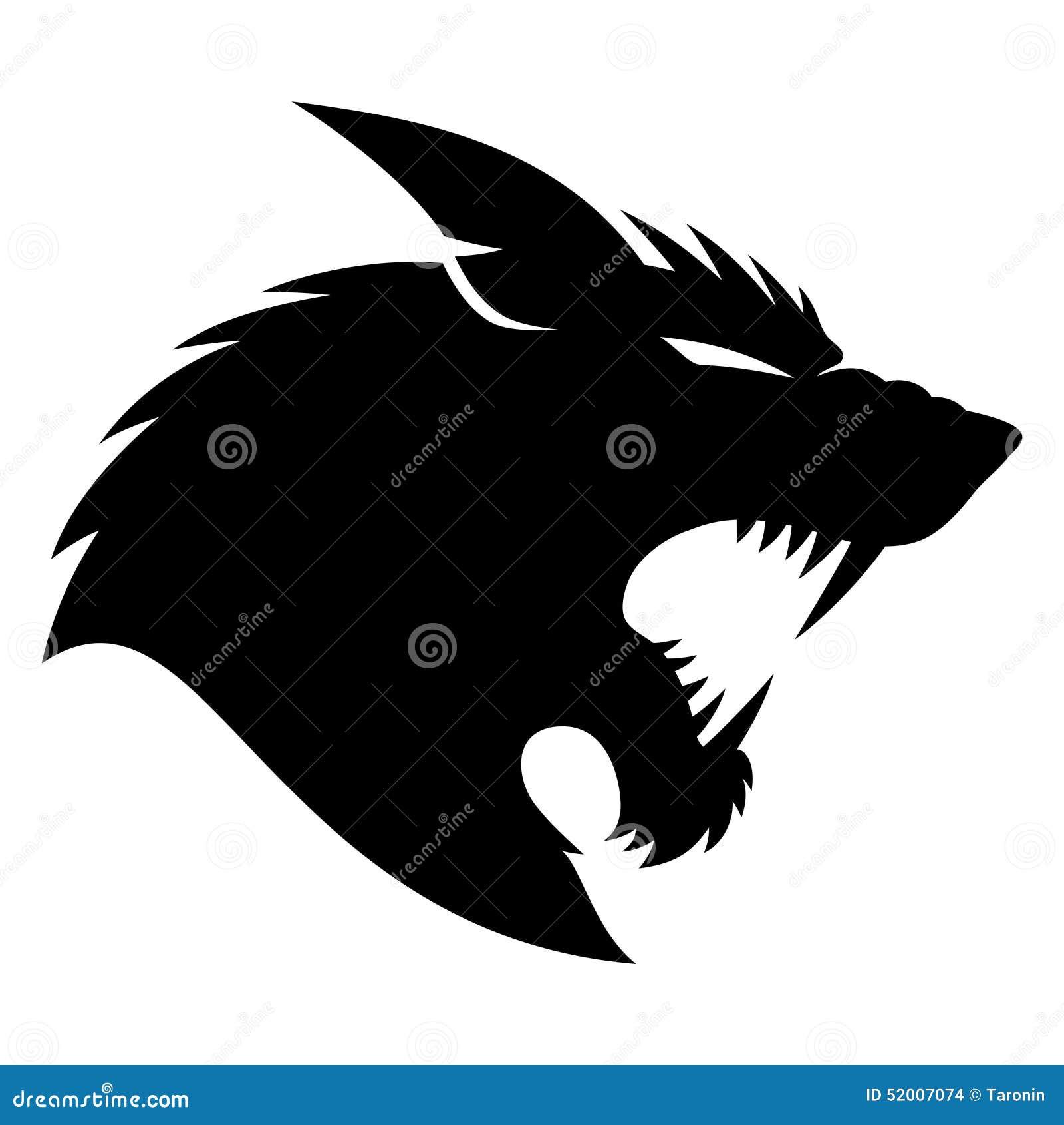 подпишите вектор werewolf