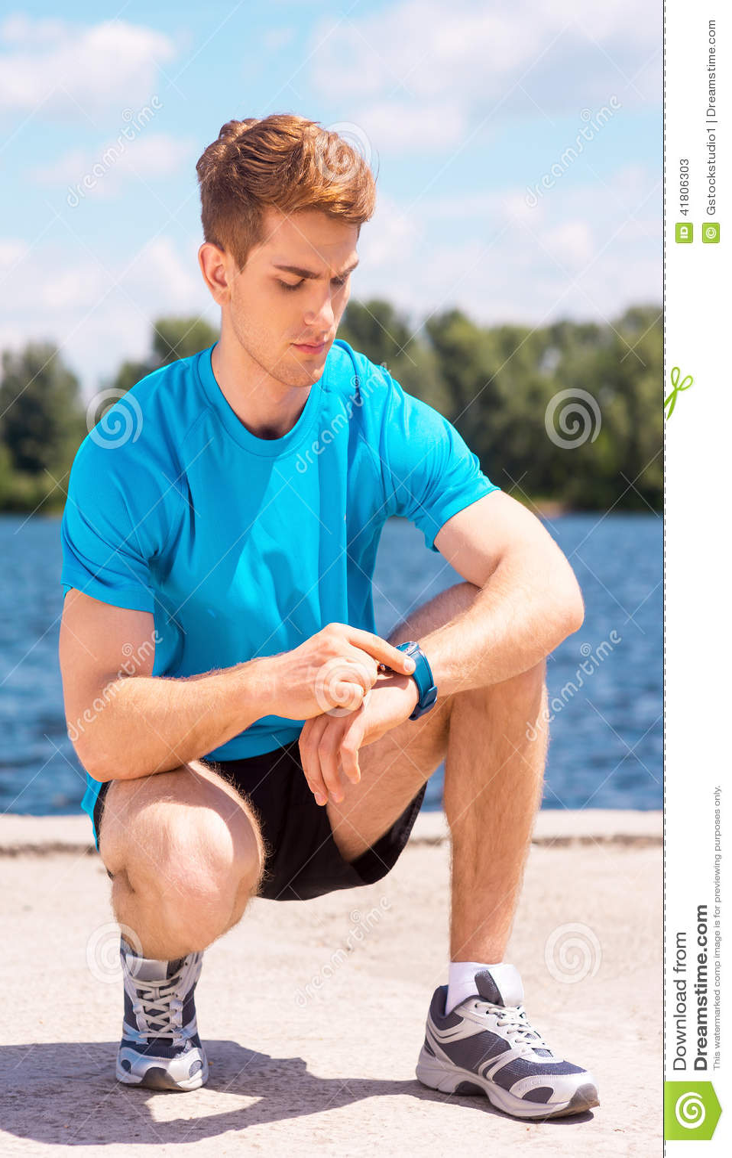 Получать готовый к jogging