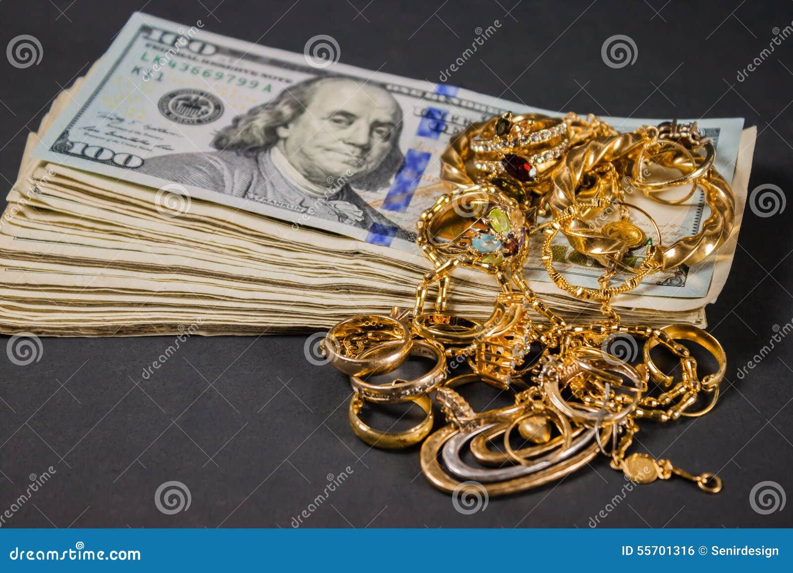 Получите наличными на золото 005