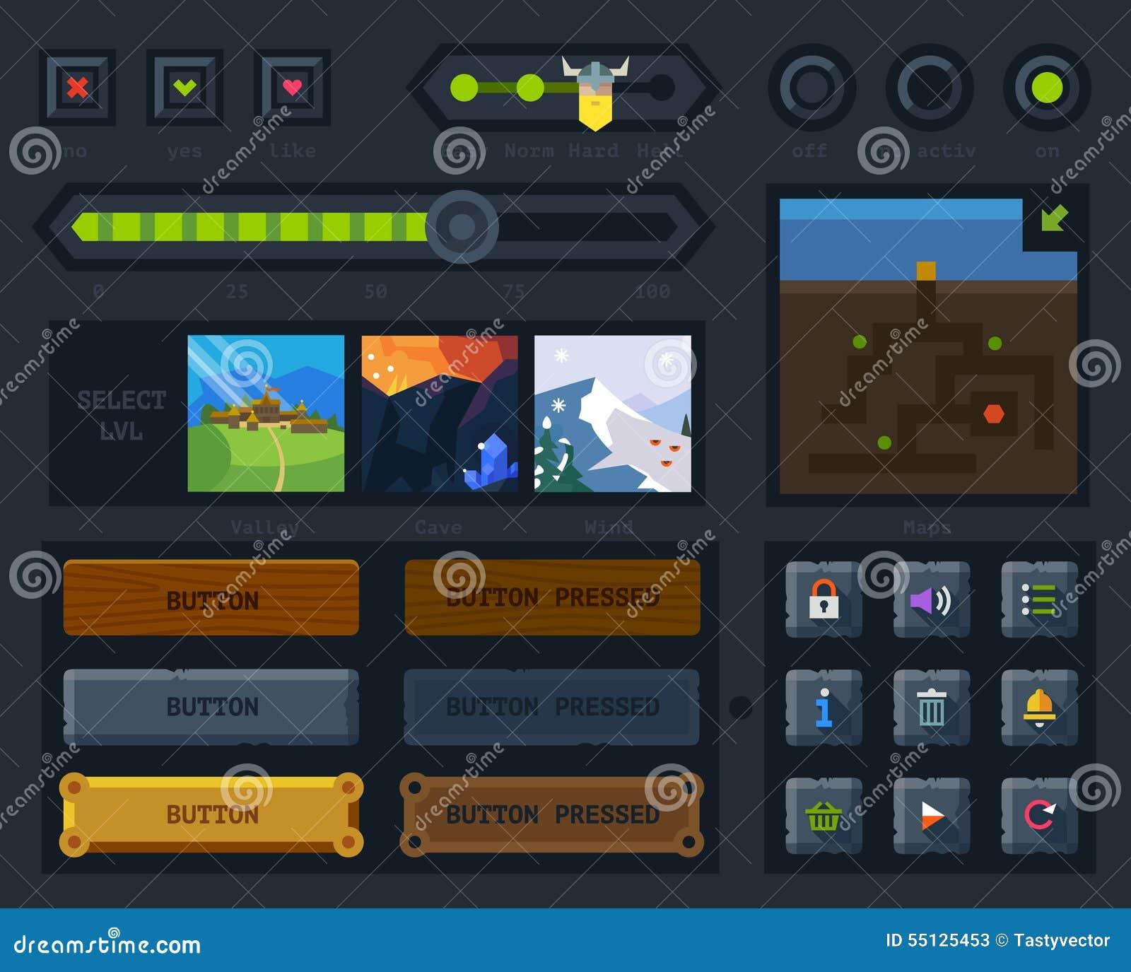 Пользовательский интерфейс для игры