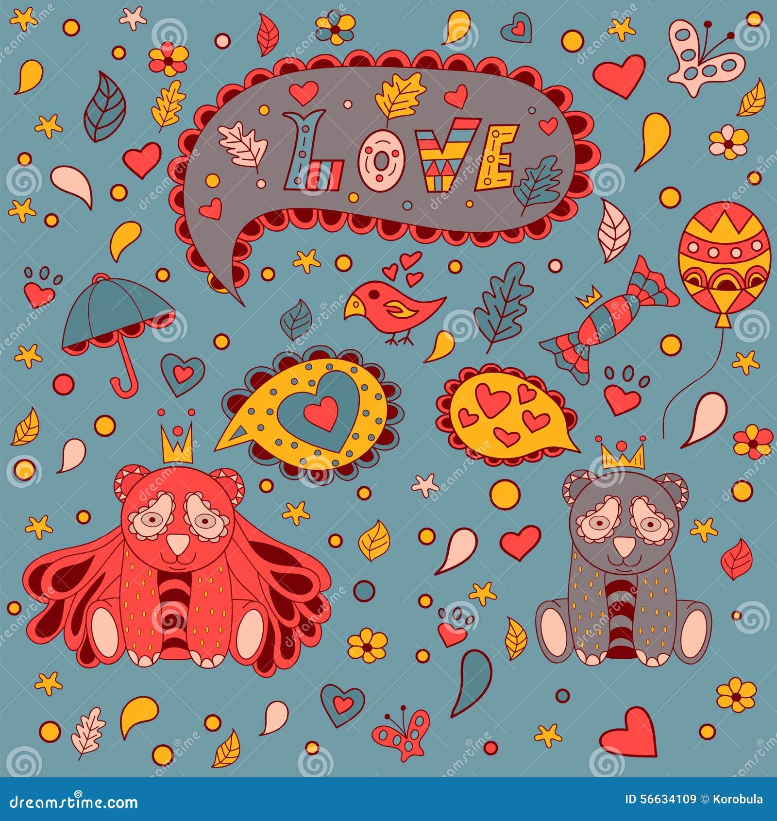 Полюбите флористическую рамку, doodle вектора карточка 2007 приветствуя счастливое Новый Год
