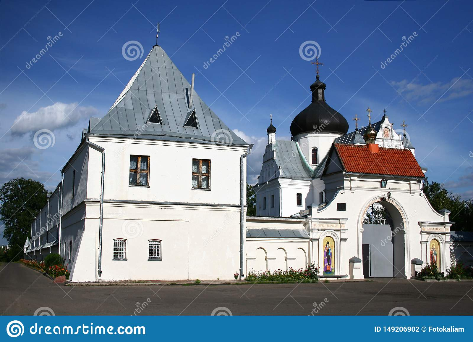 Правоверный монастырь St Nicholas