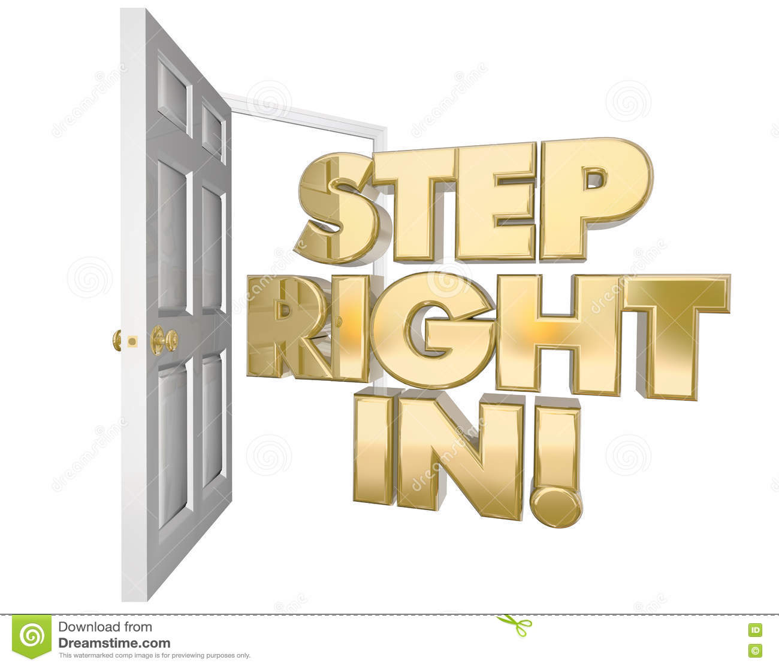 Download Право шага в радушной открыть двери приглашения формулирует иллюстрацию 3d Иллюстрация штока - иллюстрации насчитывающей рекламирует, ободрите: 72279691