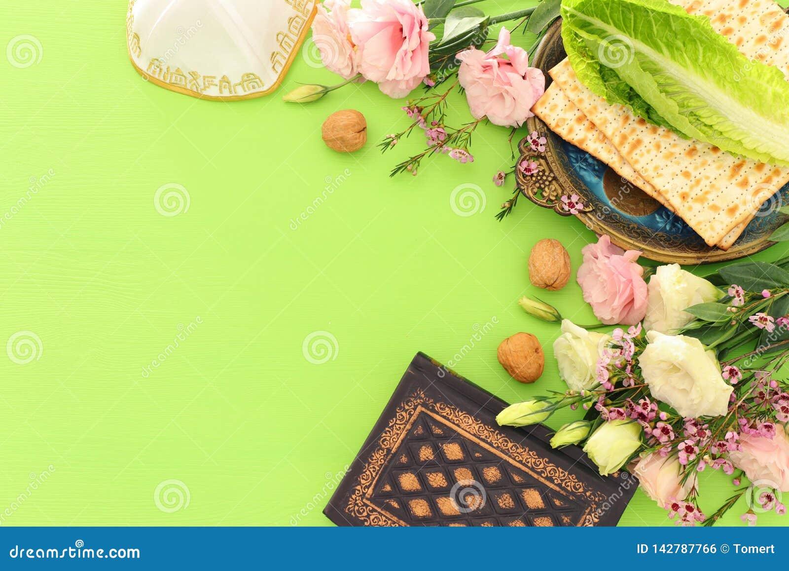 Праздник еврейской пасхи концепции торжества Pesah еврейский