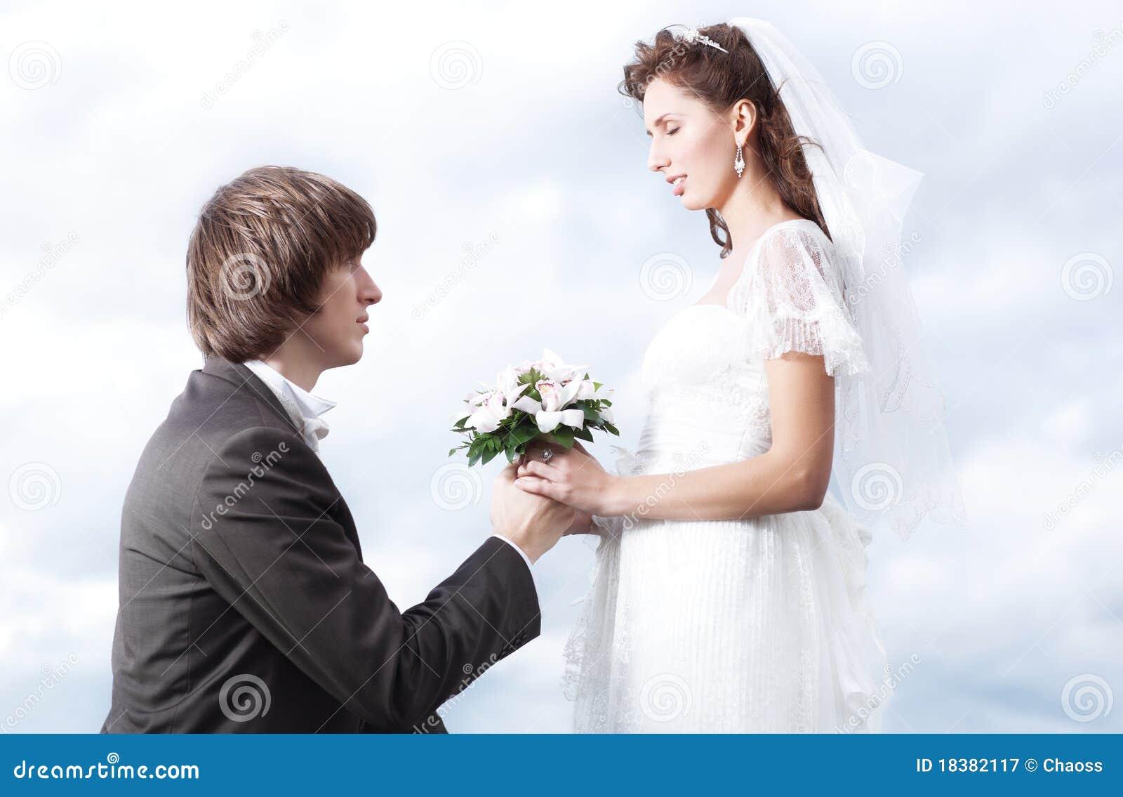 предложение замужества