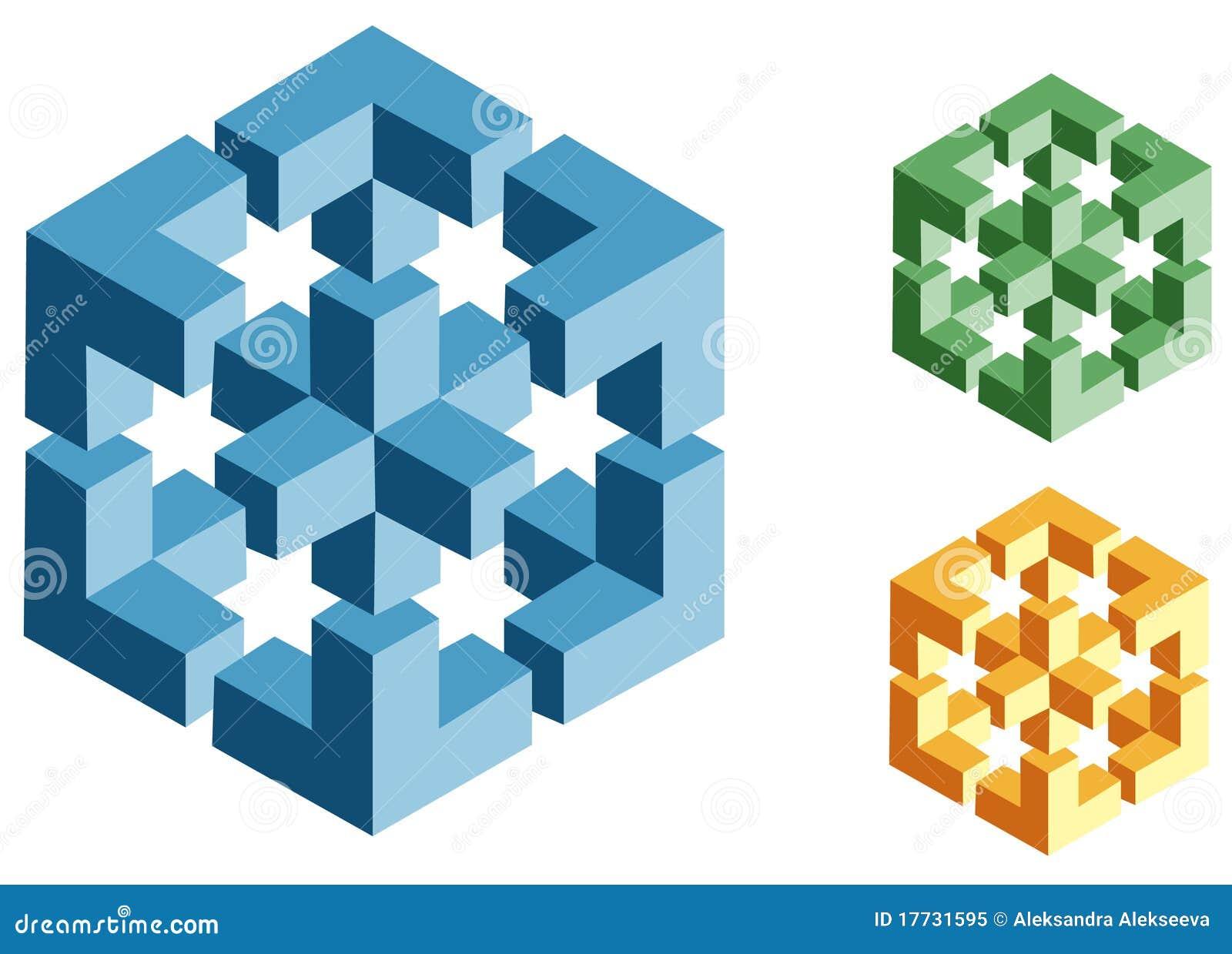 предметы иллюзионов невозможные оптически