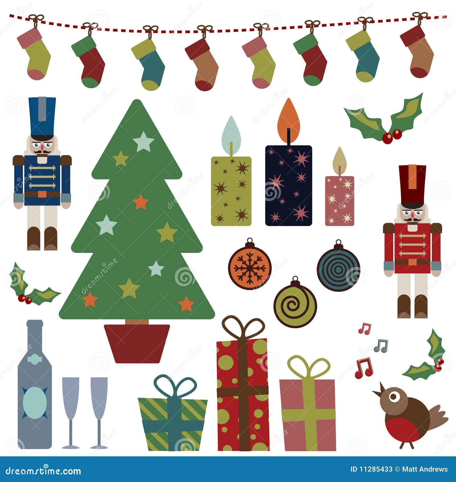 предметы рождества