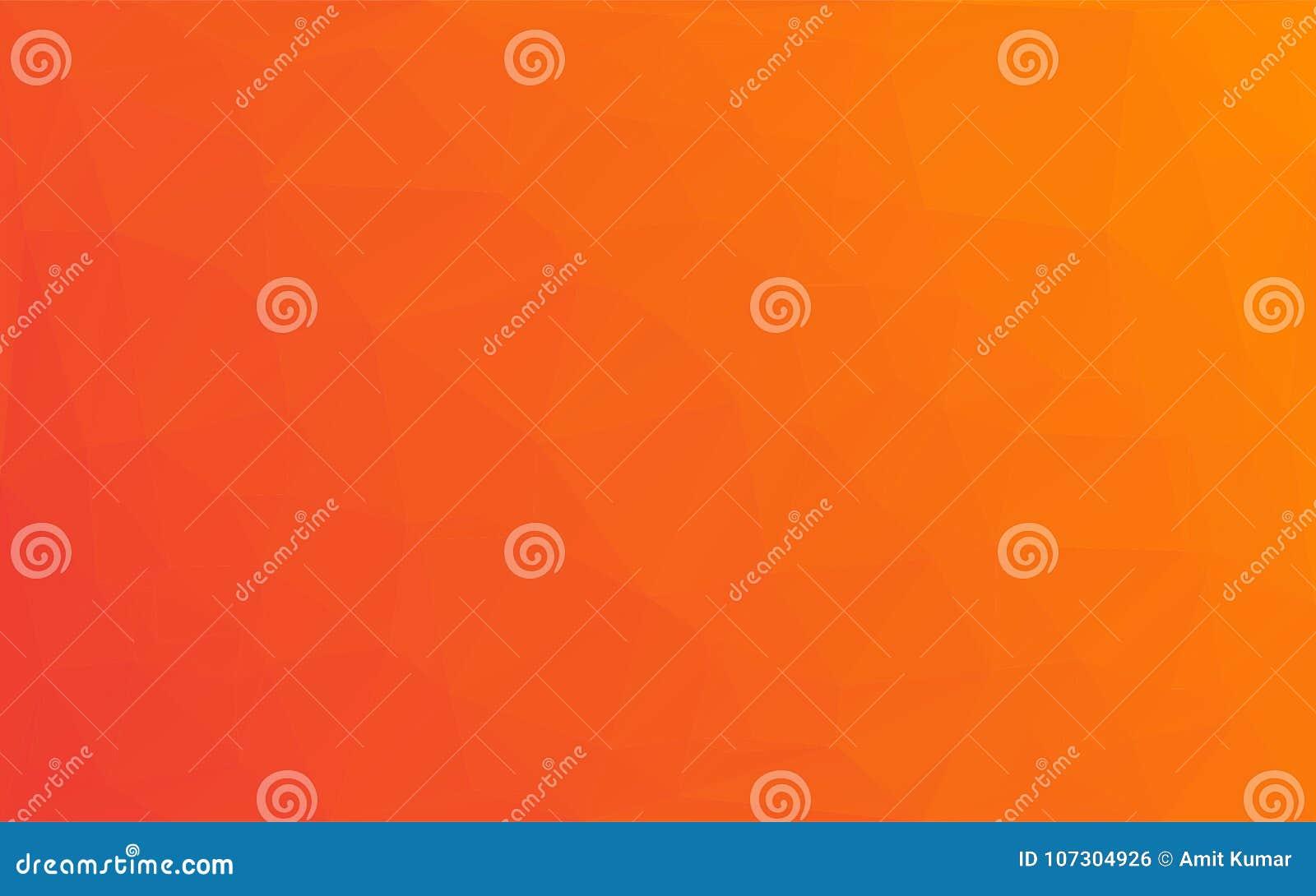 Предпосылка апельсина желтого цвета вектора мозаики полигона абстрактная