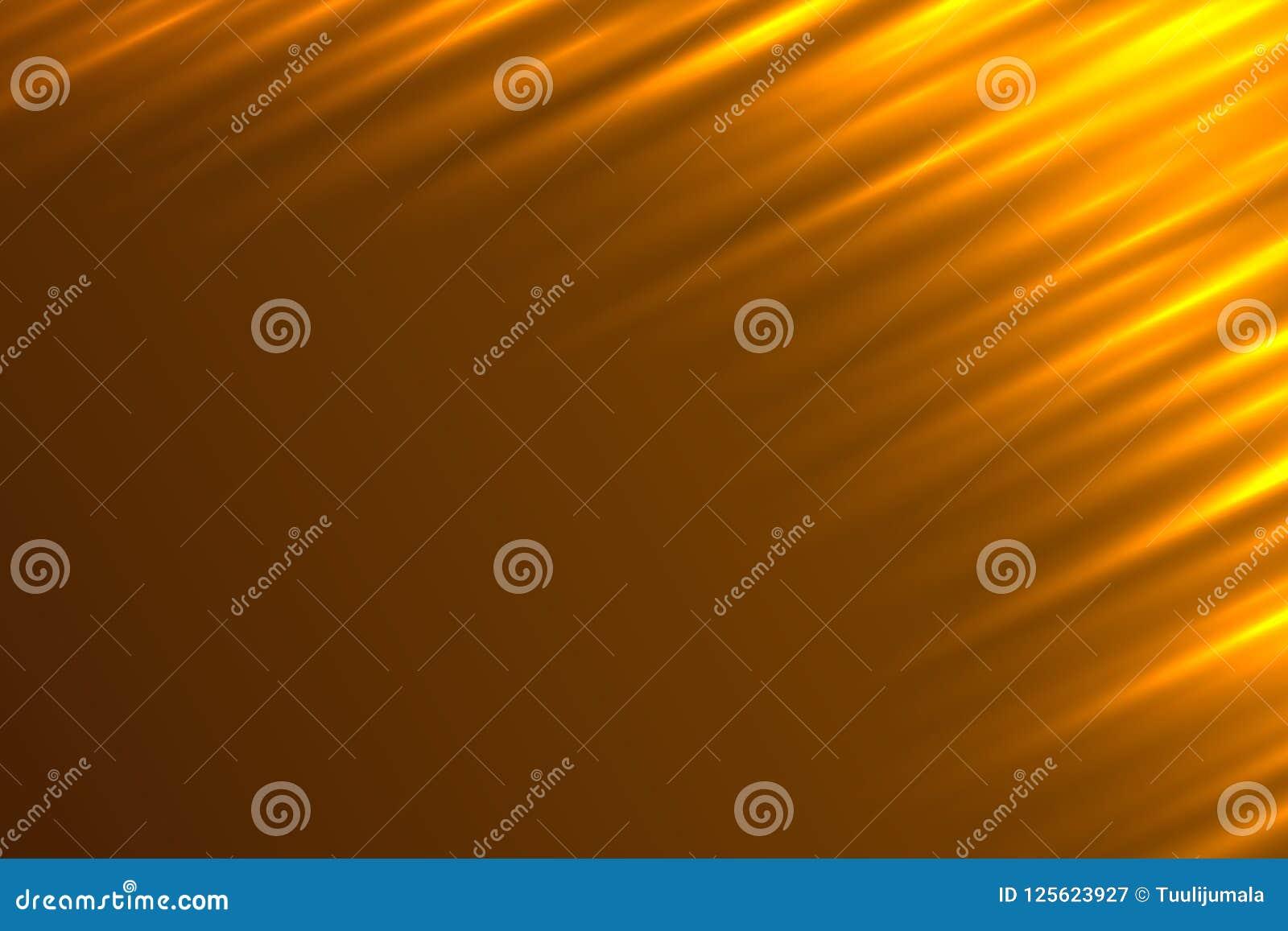 Предпосылка вектора абстрактных световых лучей оранжевая
