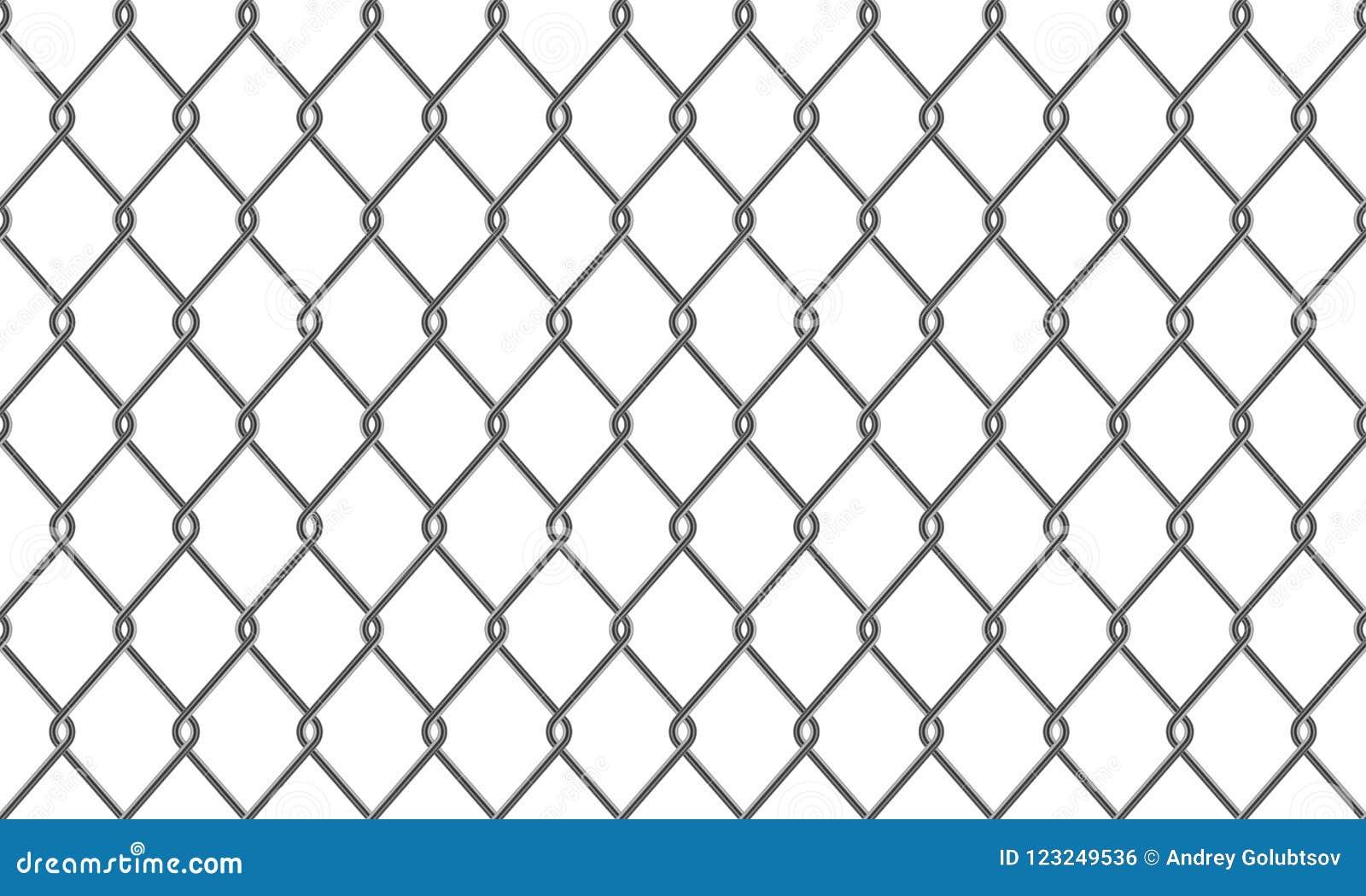 Предпосылка картины ячеистой сети загородки или звена цепи