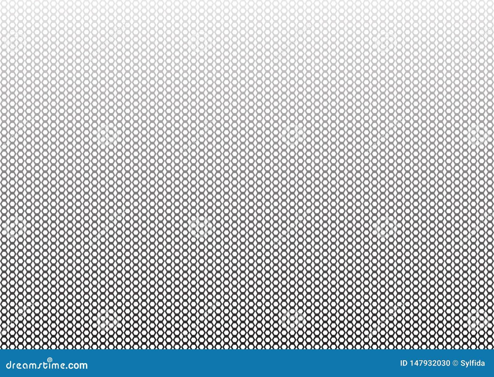 Предпосылка конспекта геометрическая monochrome с шестиугольниками r