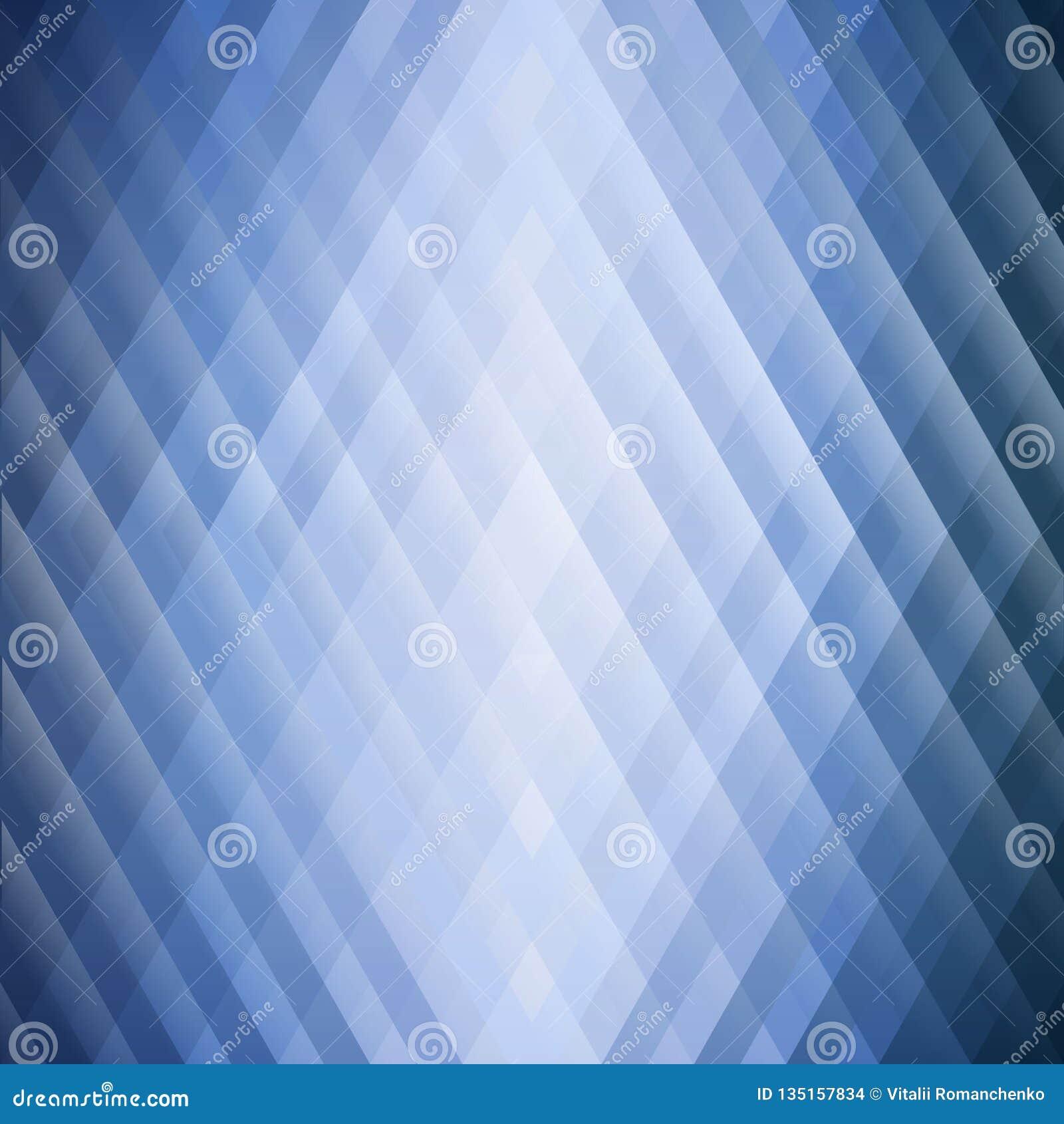 Предпосылка конспекта голубая геометрическая треугольников Красочная мозаика симметричных форм Мягкие тоны и gra цвета