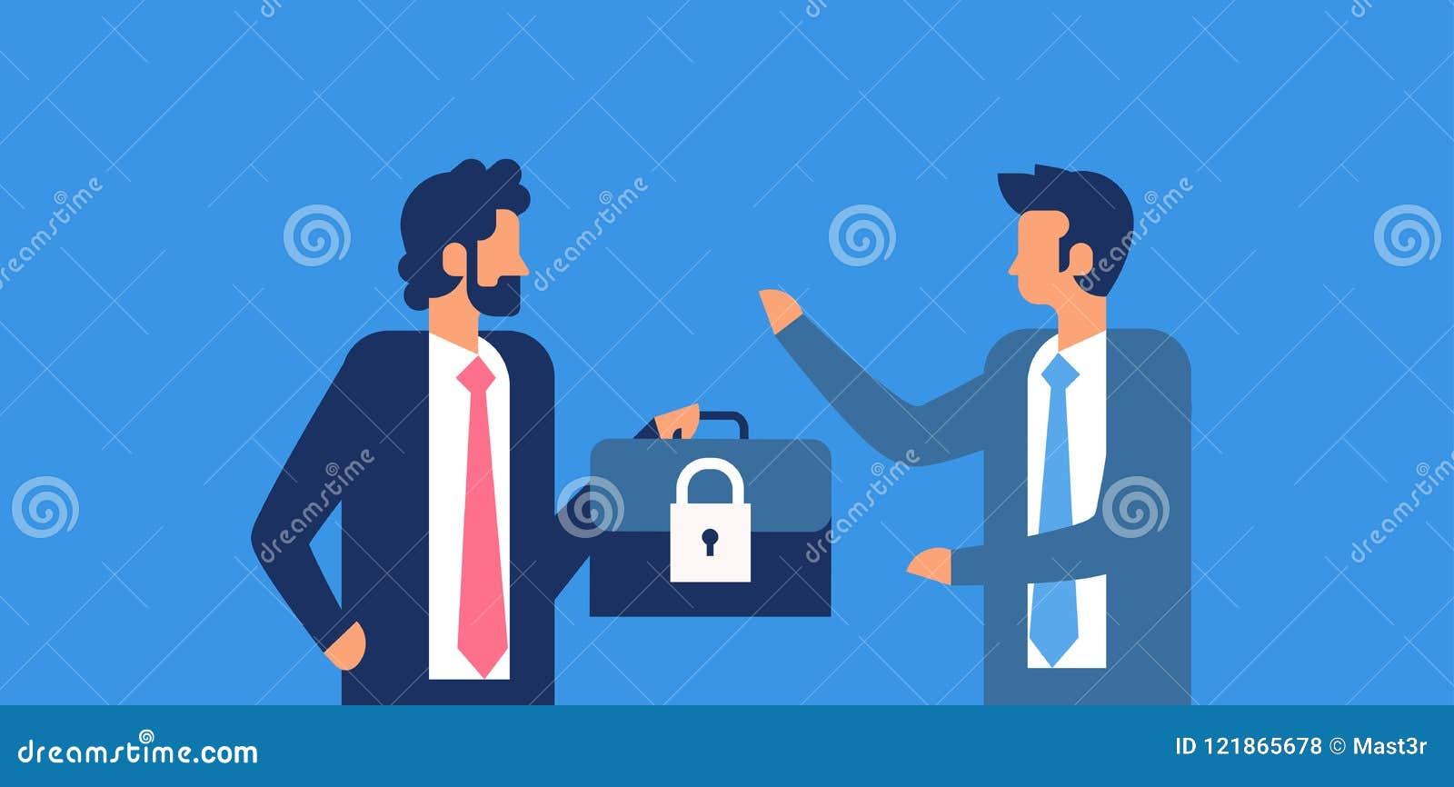 Предпосылка концепции общей защиты данных безопасностью GDPR padlock случая владением бизнесмена регулированная плоско горизонтал