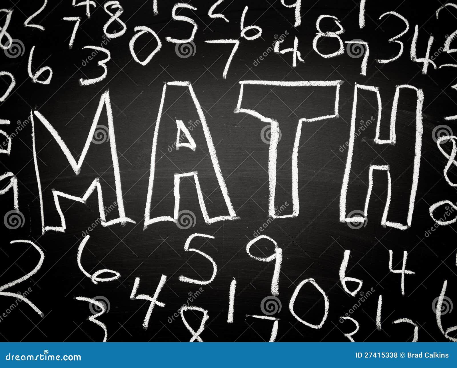 Предпосылка математики