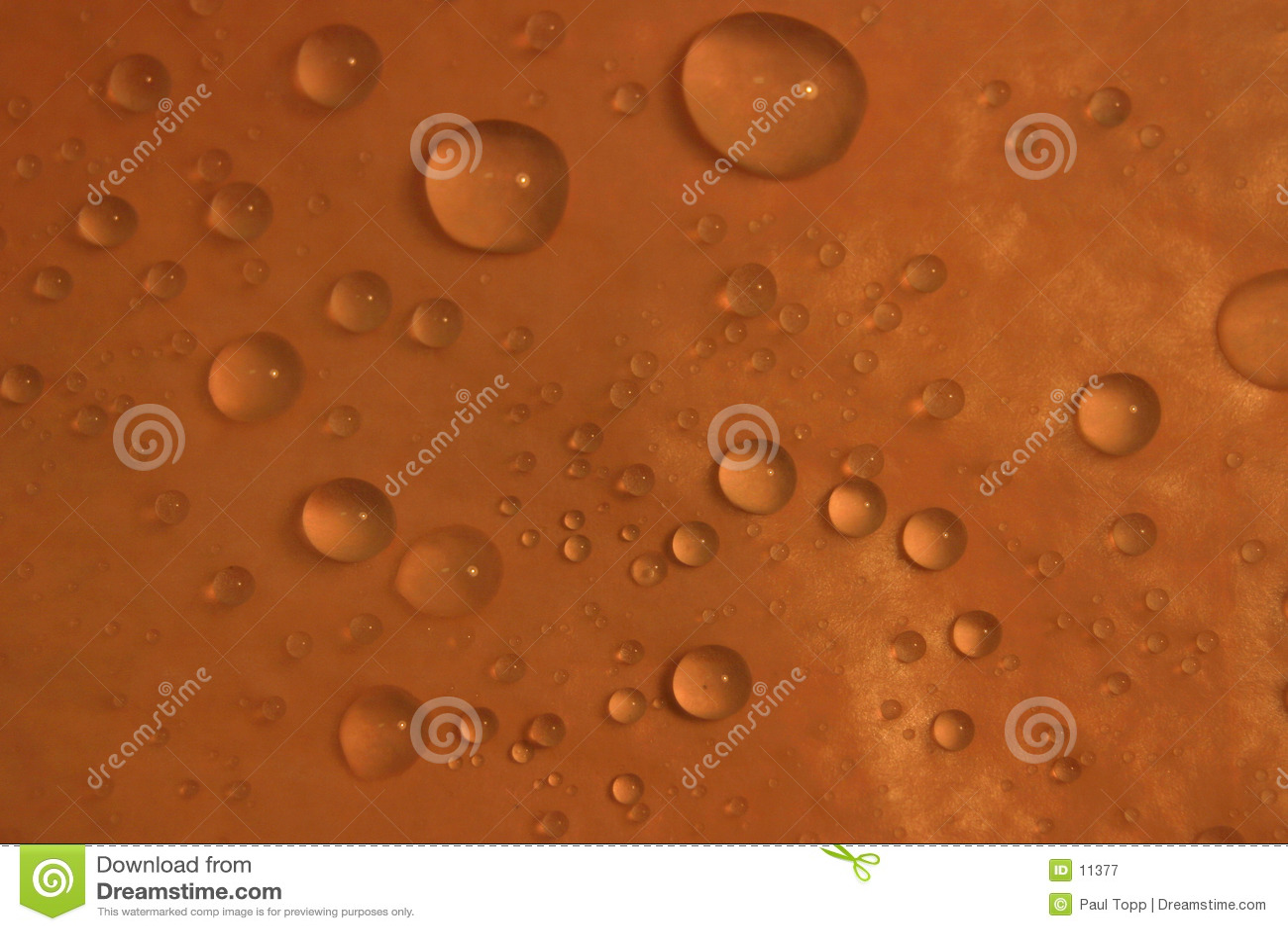 предпосылка падает померанцовая вода