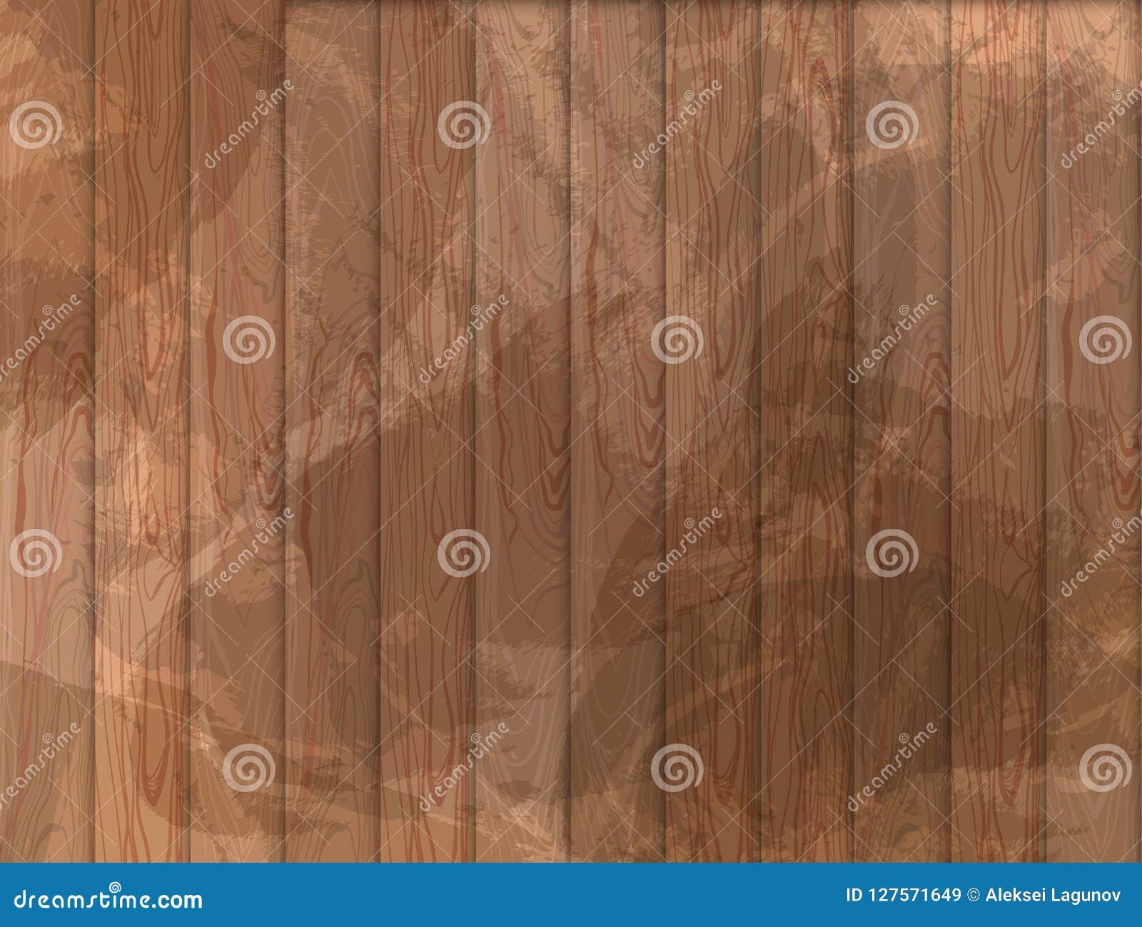 Предпосылка Grunge вектора деревянная, деревянная текстура, русый цвет
