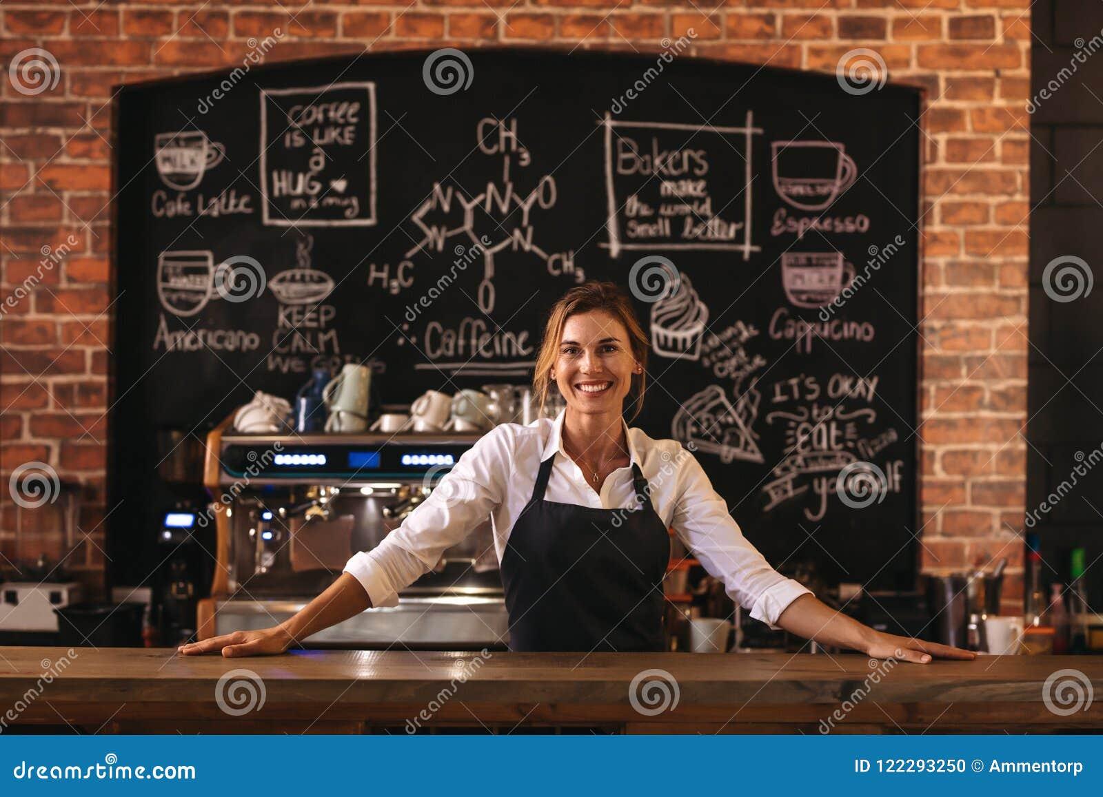 Предприниматель кафа женщины