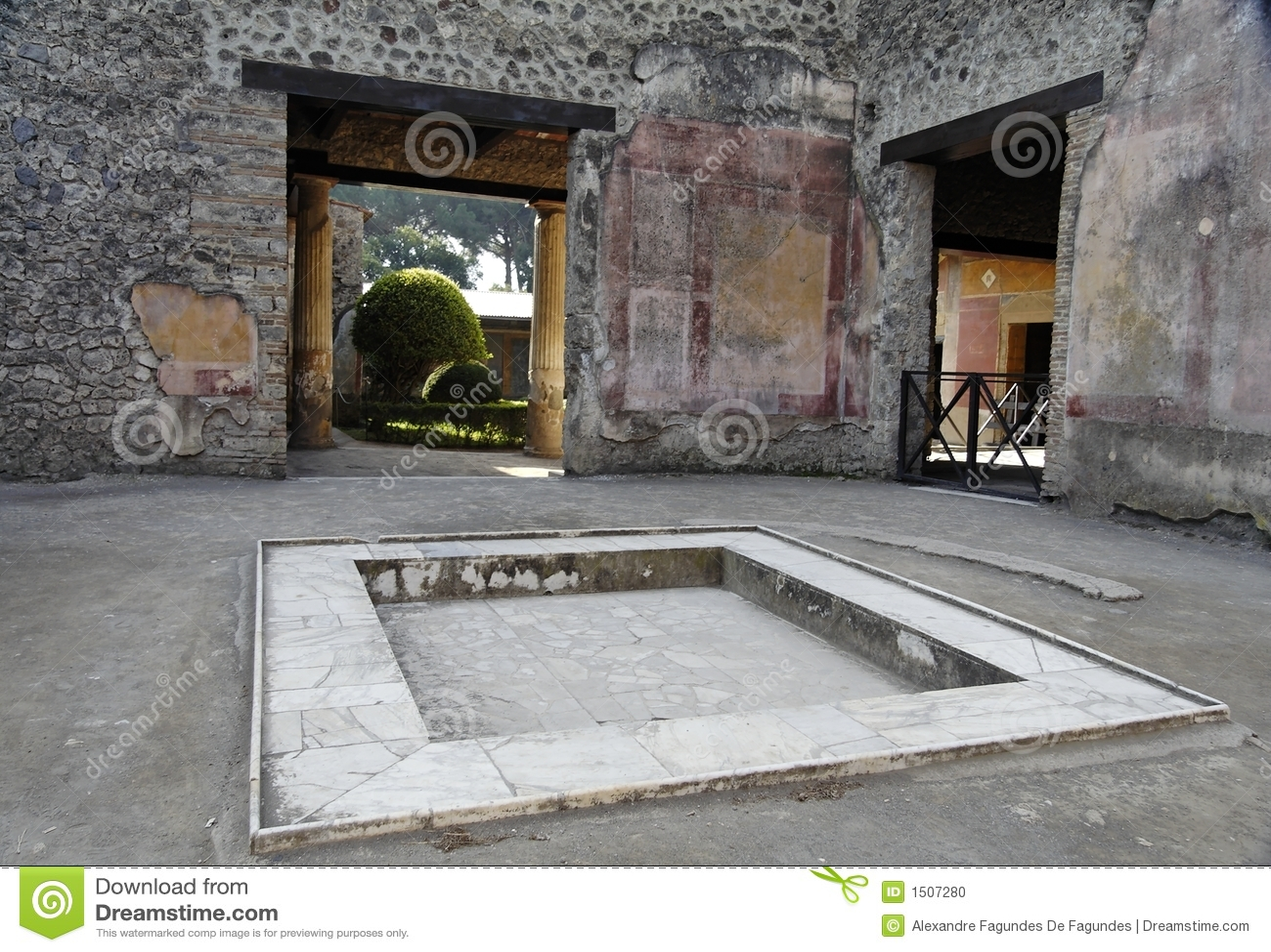 предсердие pompeii