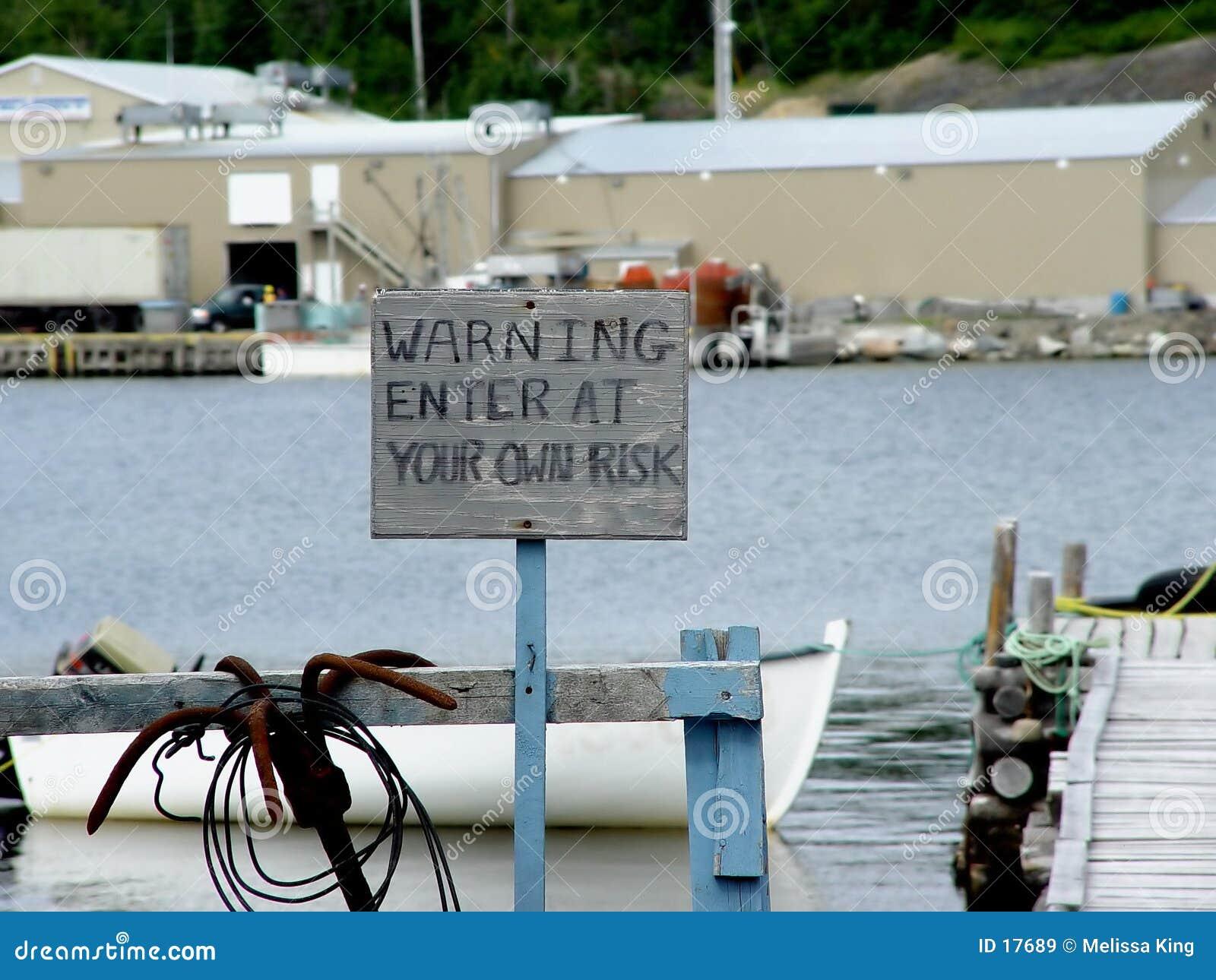 предупреждение знака