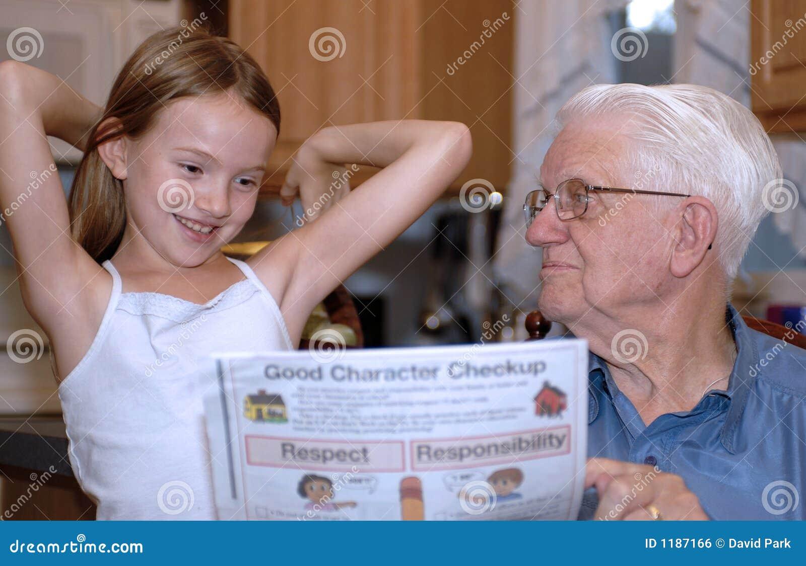 премудрость grandparent учя