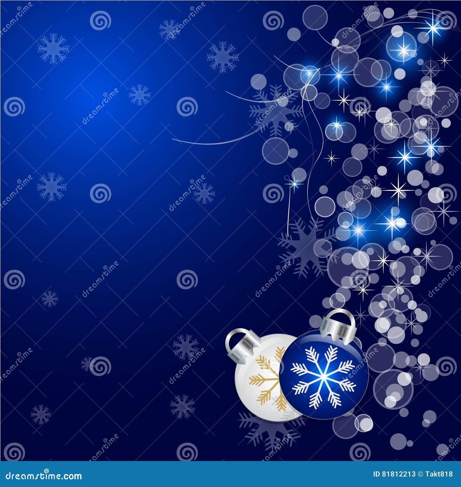 Предпосылка вектора абстрактного рождества голубая