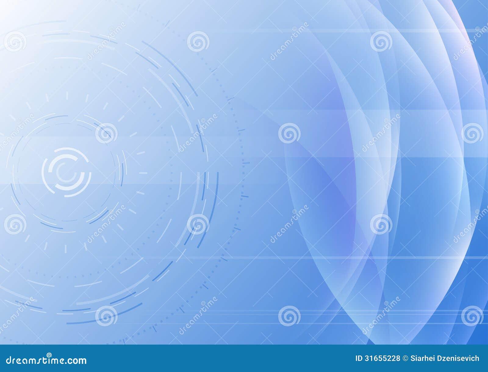 предпосылка Высок-техника абстрактная с прозрачными волнами