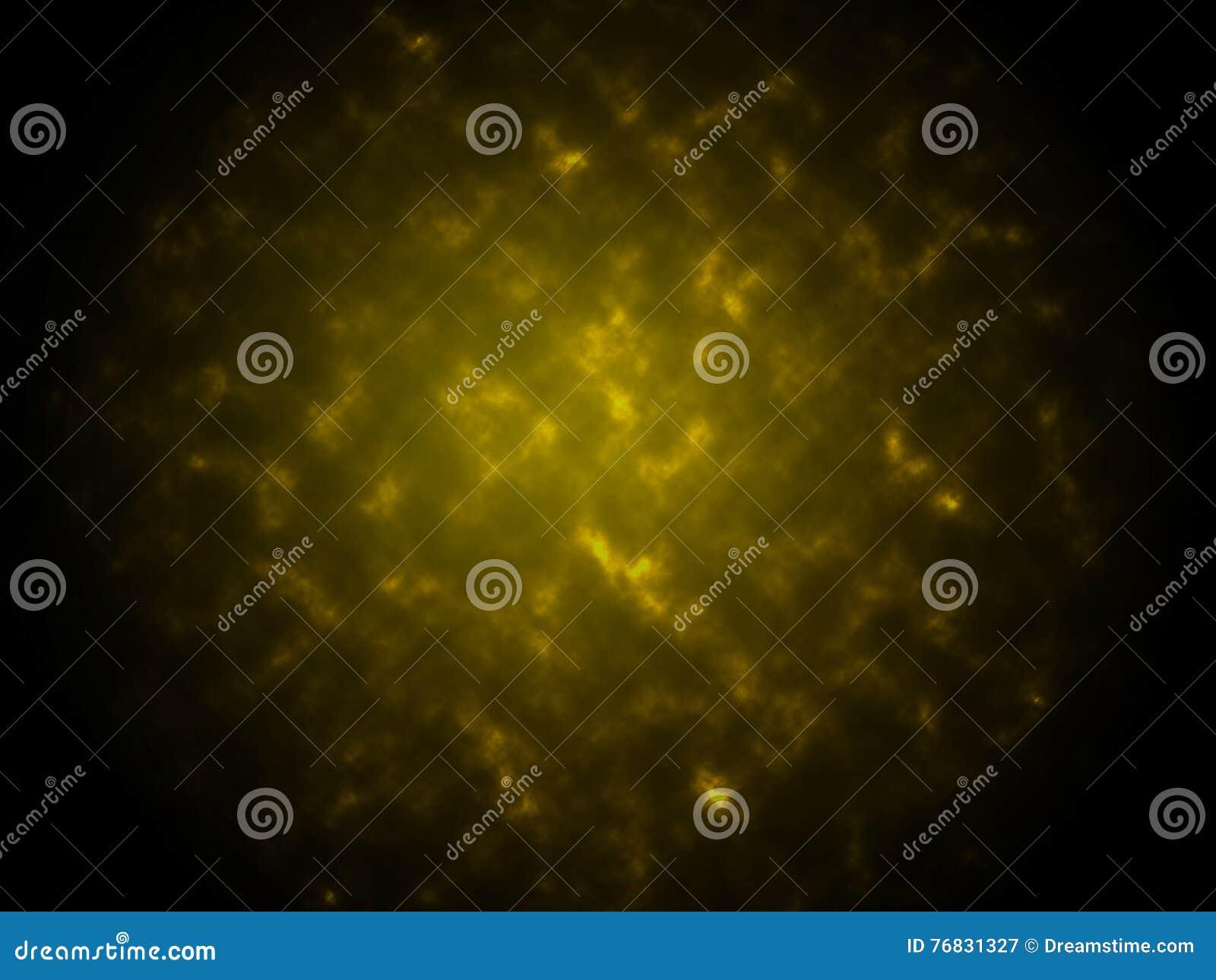 Предпосылка желтого цвета конспекта текстуры дыма