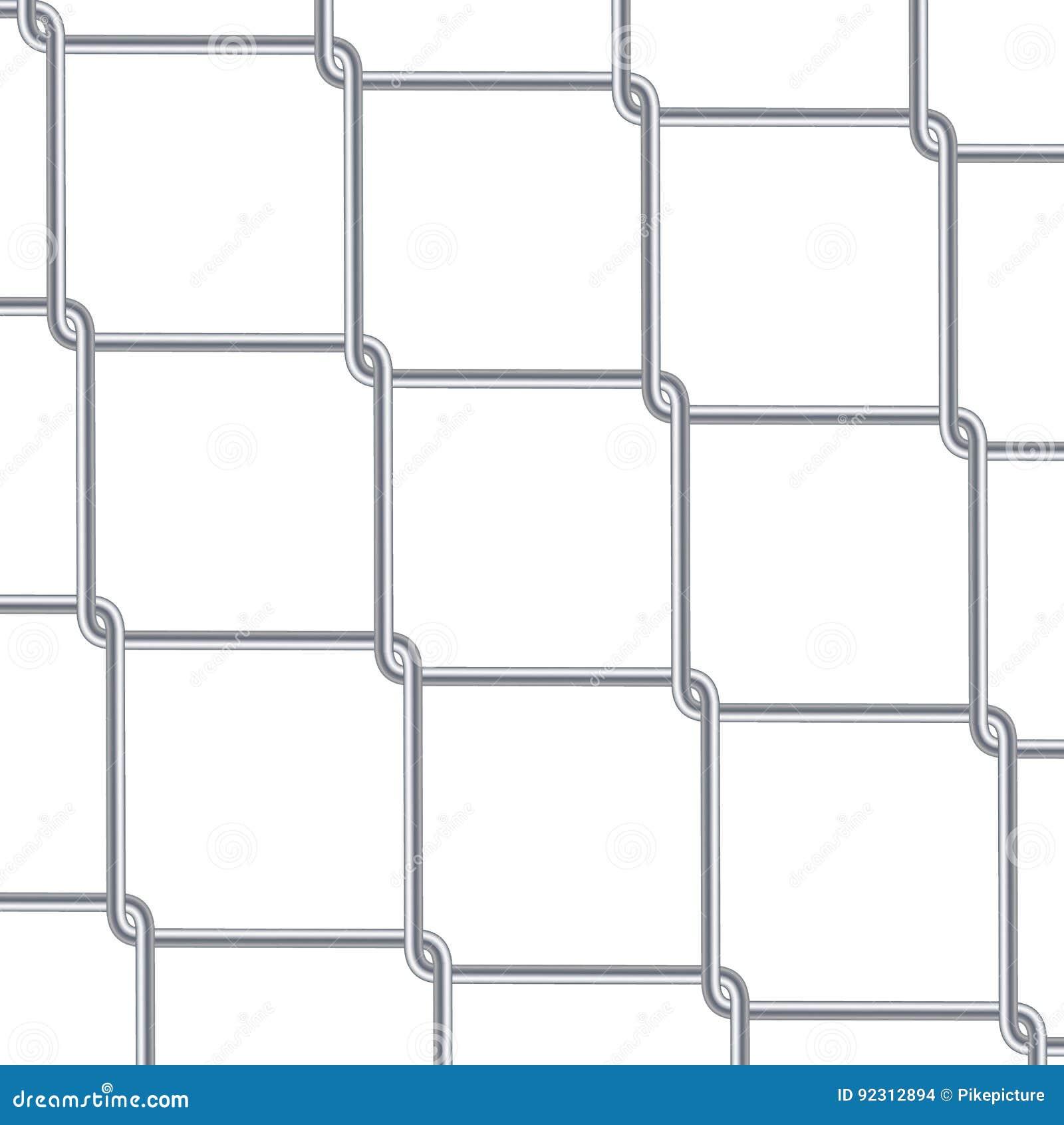 Предпосылка загородки звена цепи Промышленные обои стиля Реалистическая геометрическая текстура Стена стального провода изолирова