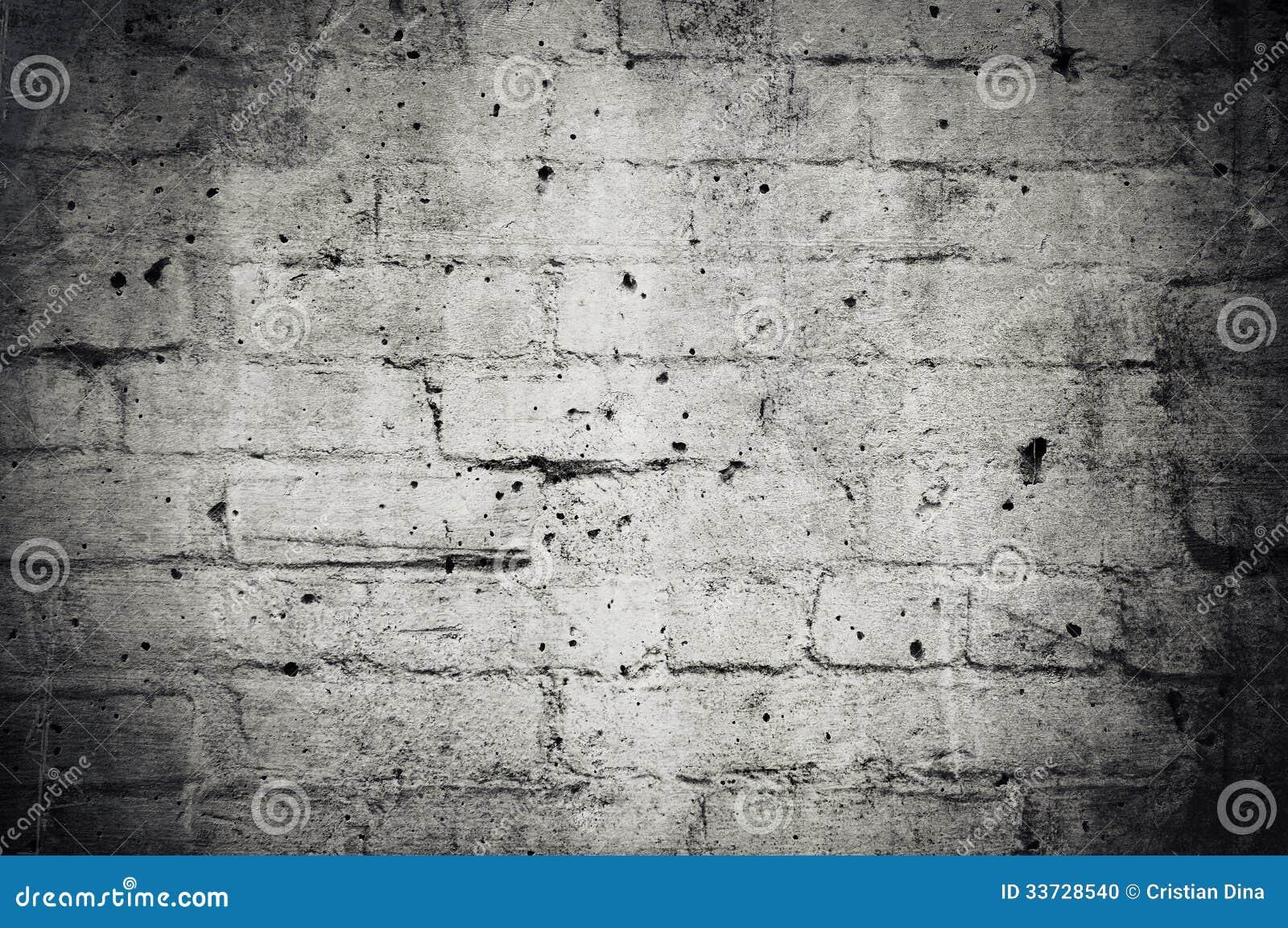 Предпосылка кирпичной стены Grunge