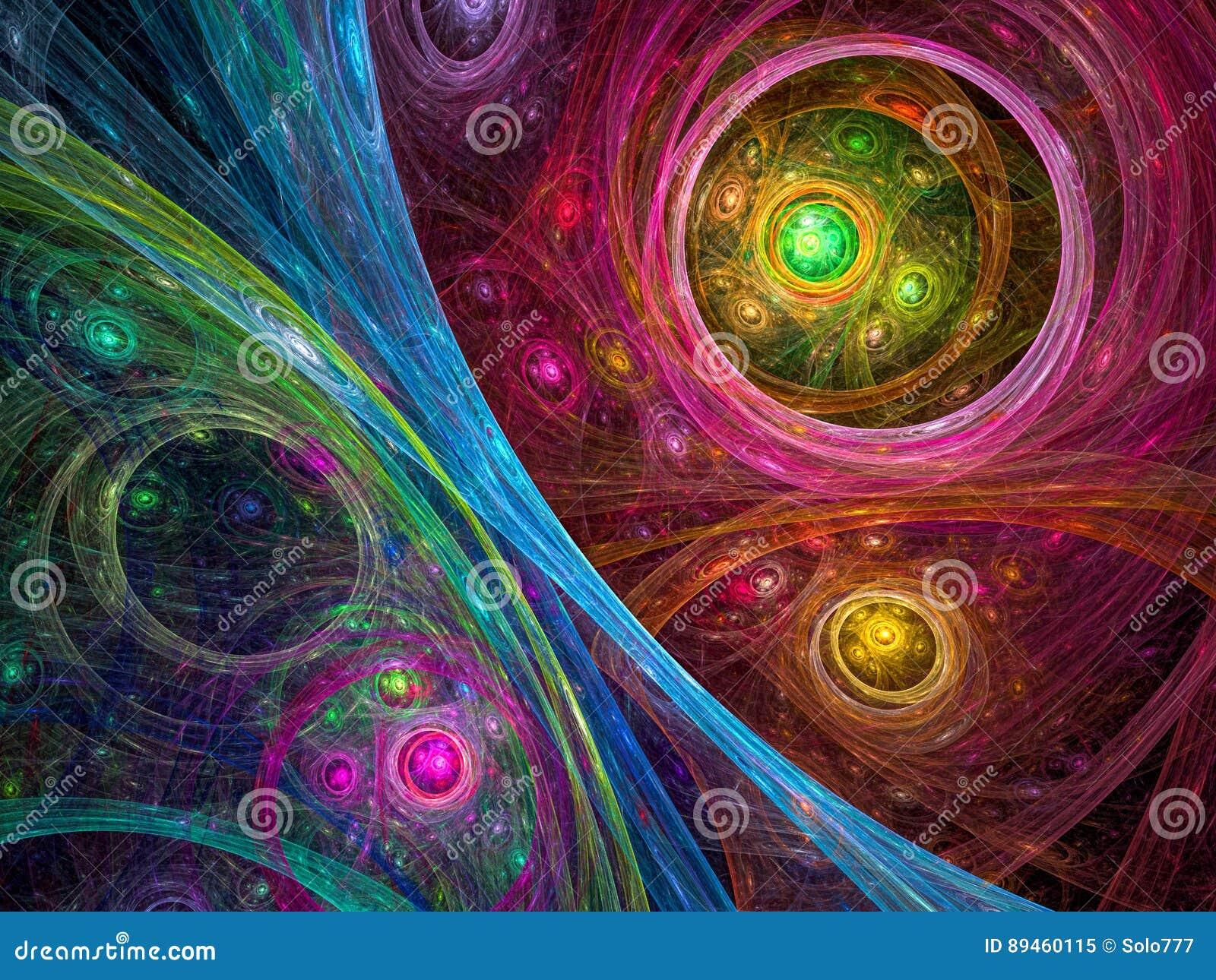Предпосылка космоса - изображение конспекта цифров произведенное