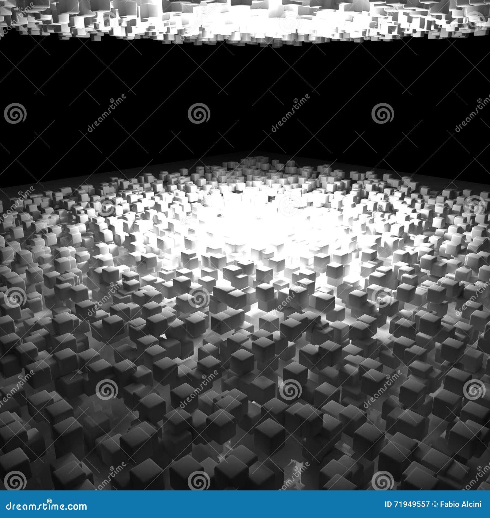 Предпосылка кубов, 3d