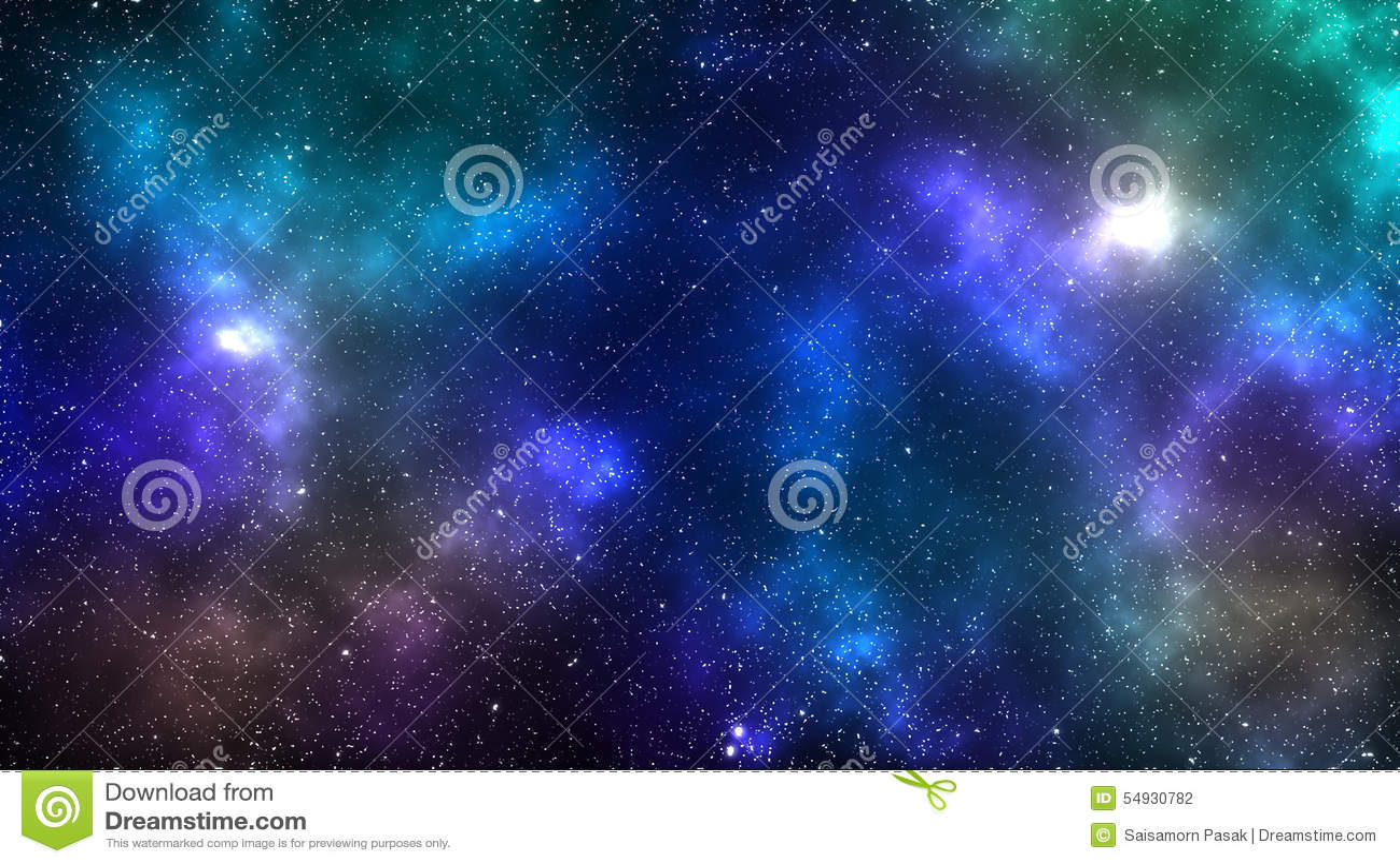 Предпосылка межзвёздного облака космоса галактики