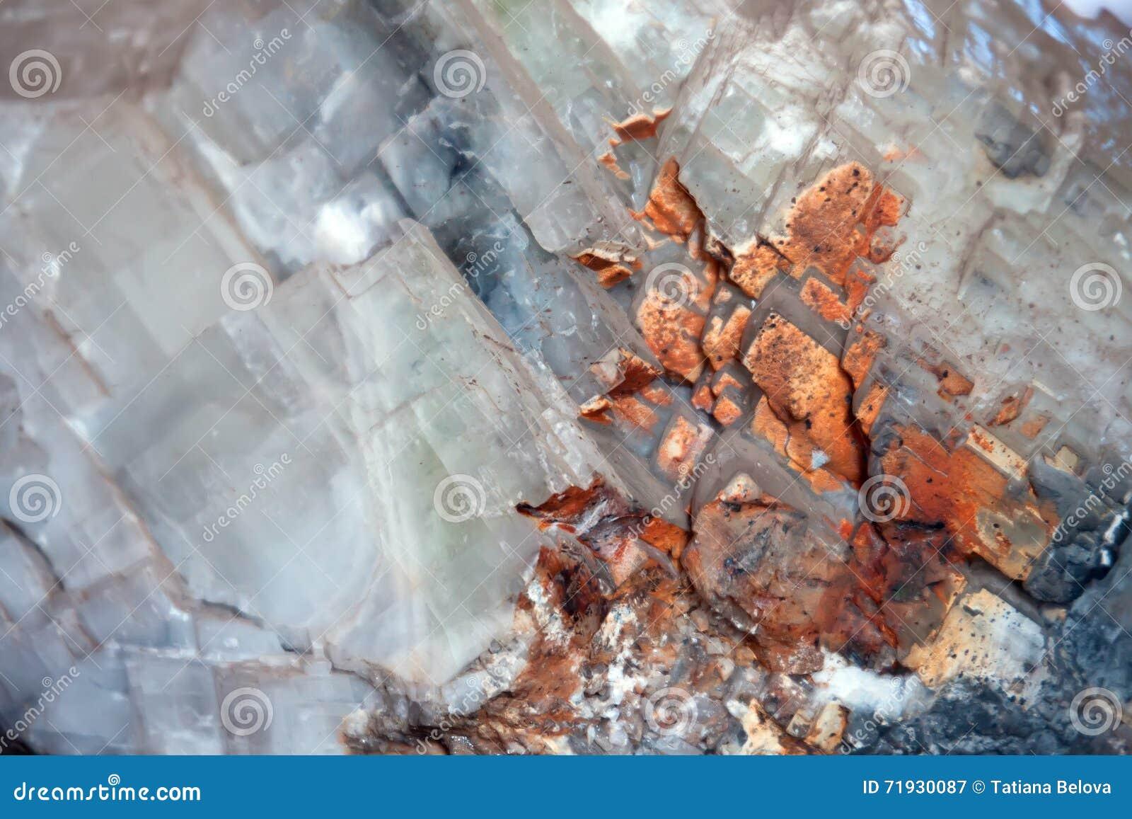 Предпосылка минерала кальцита