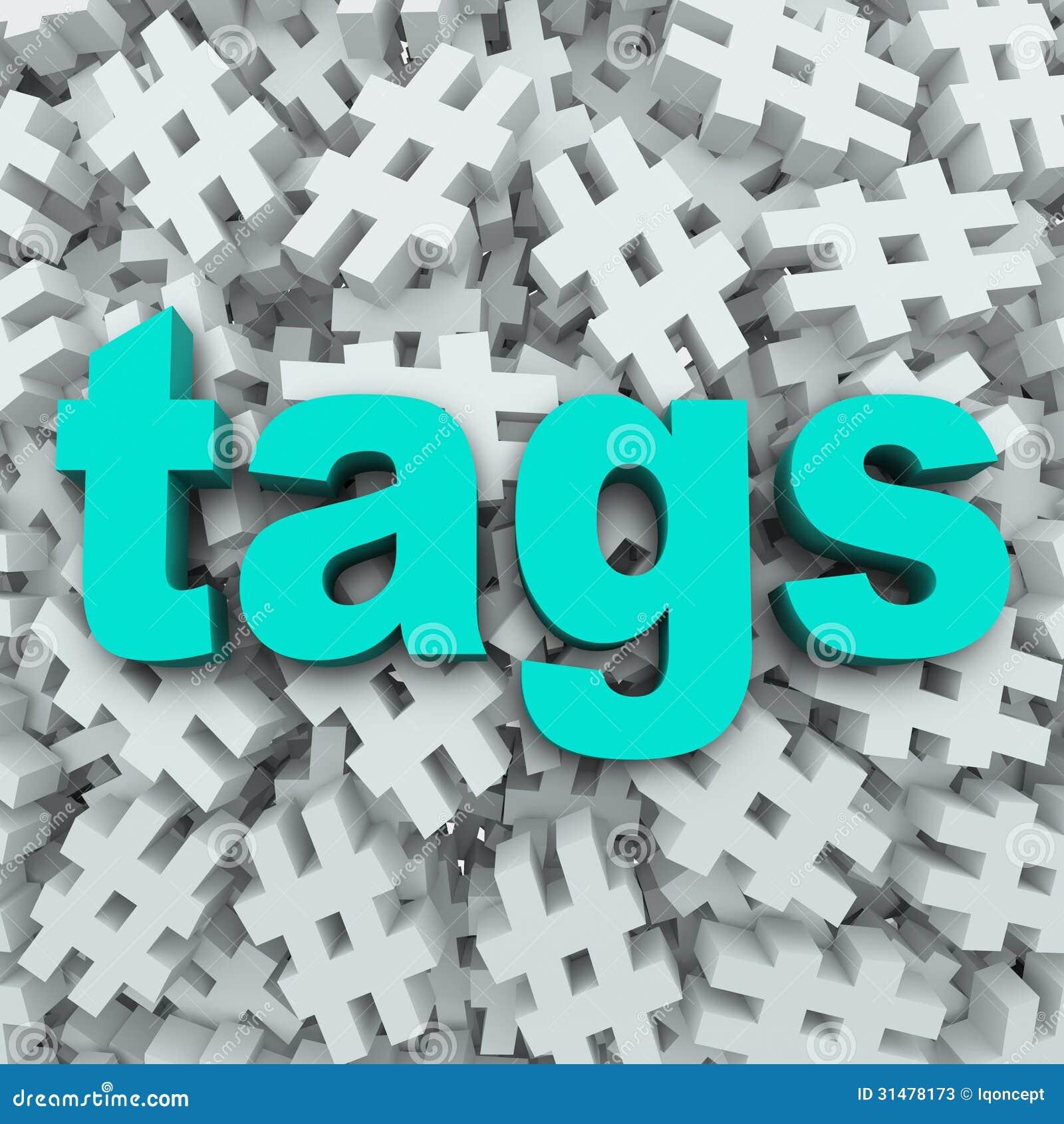 Предпосылка обновления сообщения символа Hashtag бирок