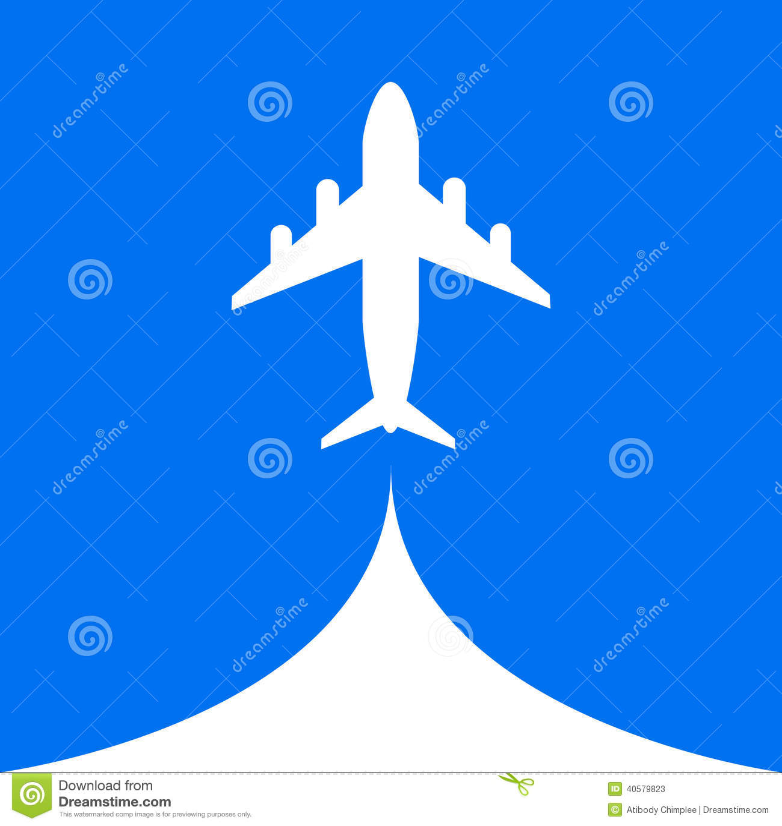 Предпосылка облака мухы воздуха полета самолета небесно-голубая