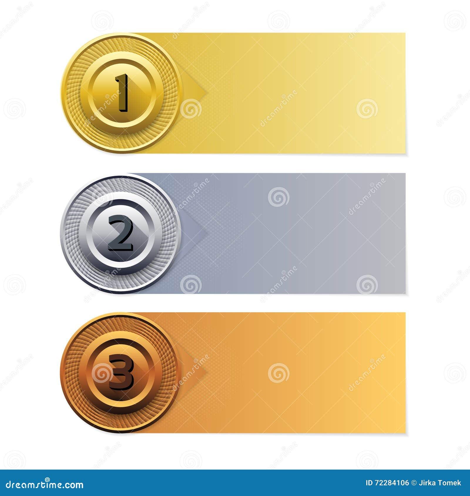Download Предпосылка прогресса вектора Знамя золота серебряное бронзовое Иллюстрация вектора - иллюстрации насчитывающей concept, самомоднейше: 72284106