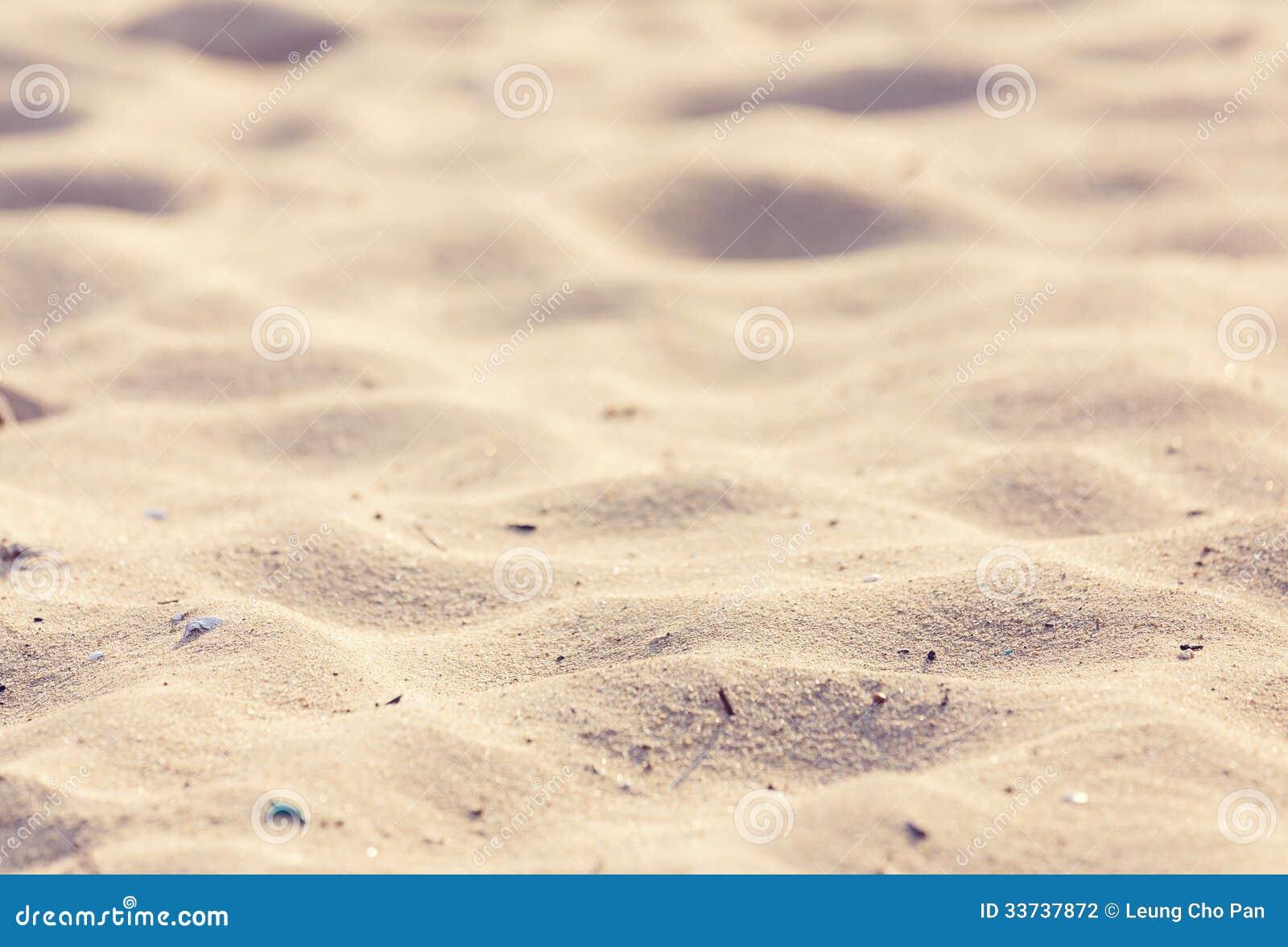 Предпосылка пляжа песка