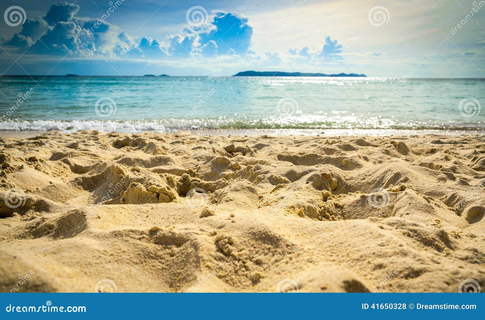 Предпосылка пляжа sand