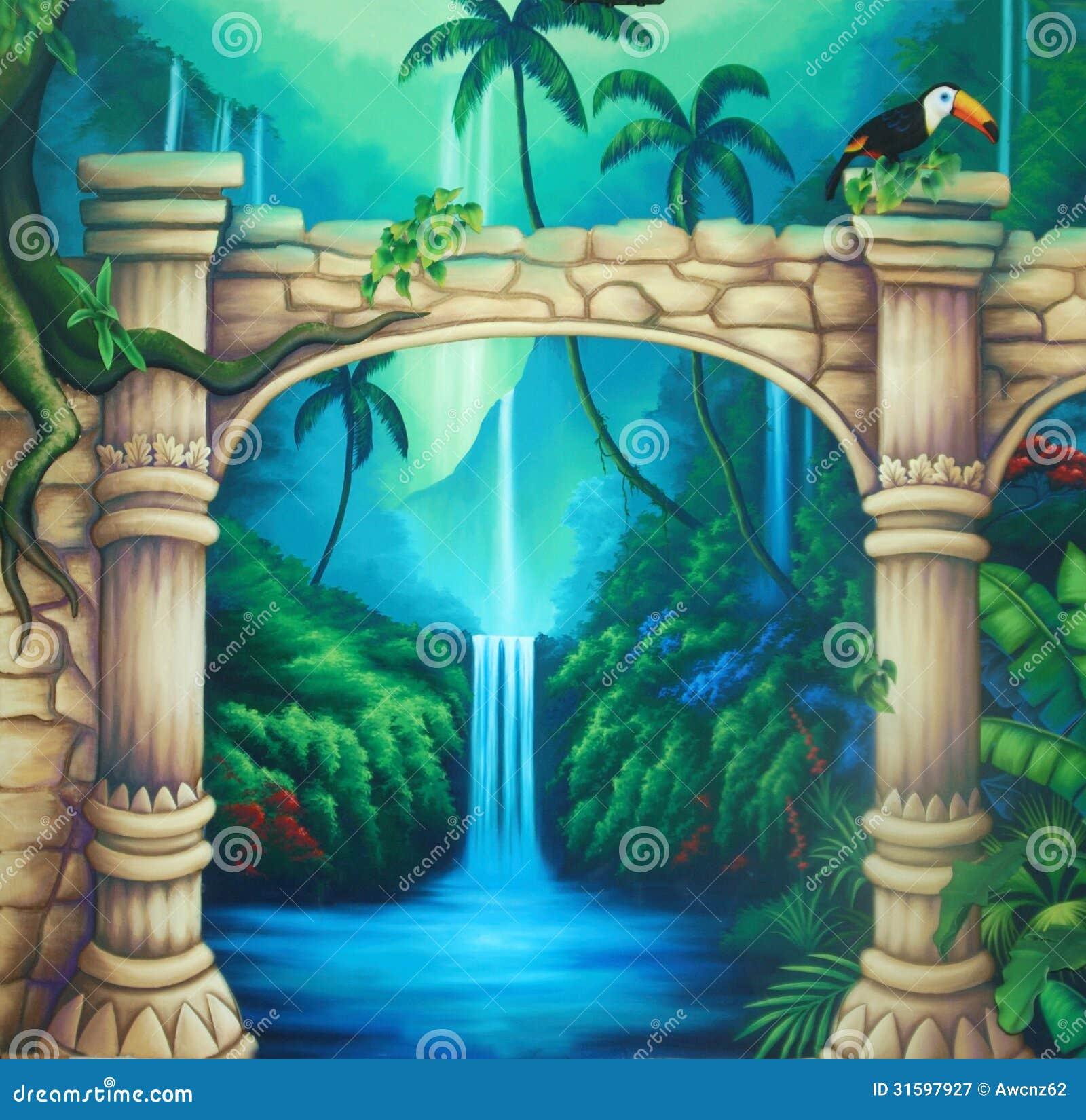 Предпосылка древнего храма